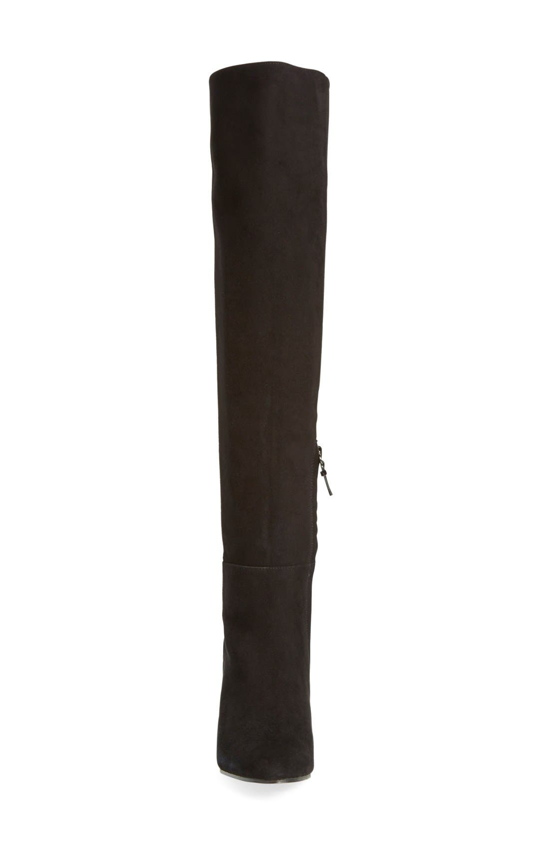 'Noble' Over the Knee Boot,                             Alternate thumbnail 3, color,                             001