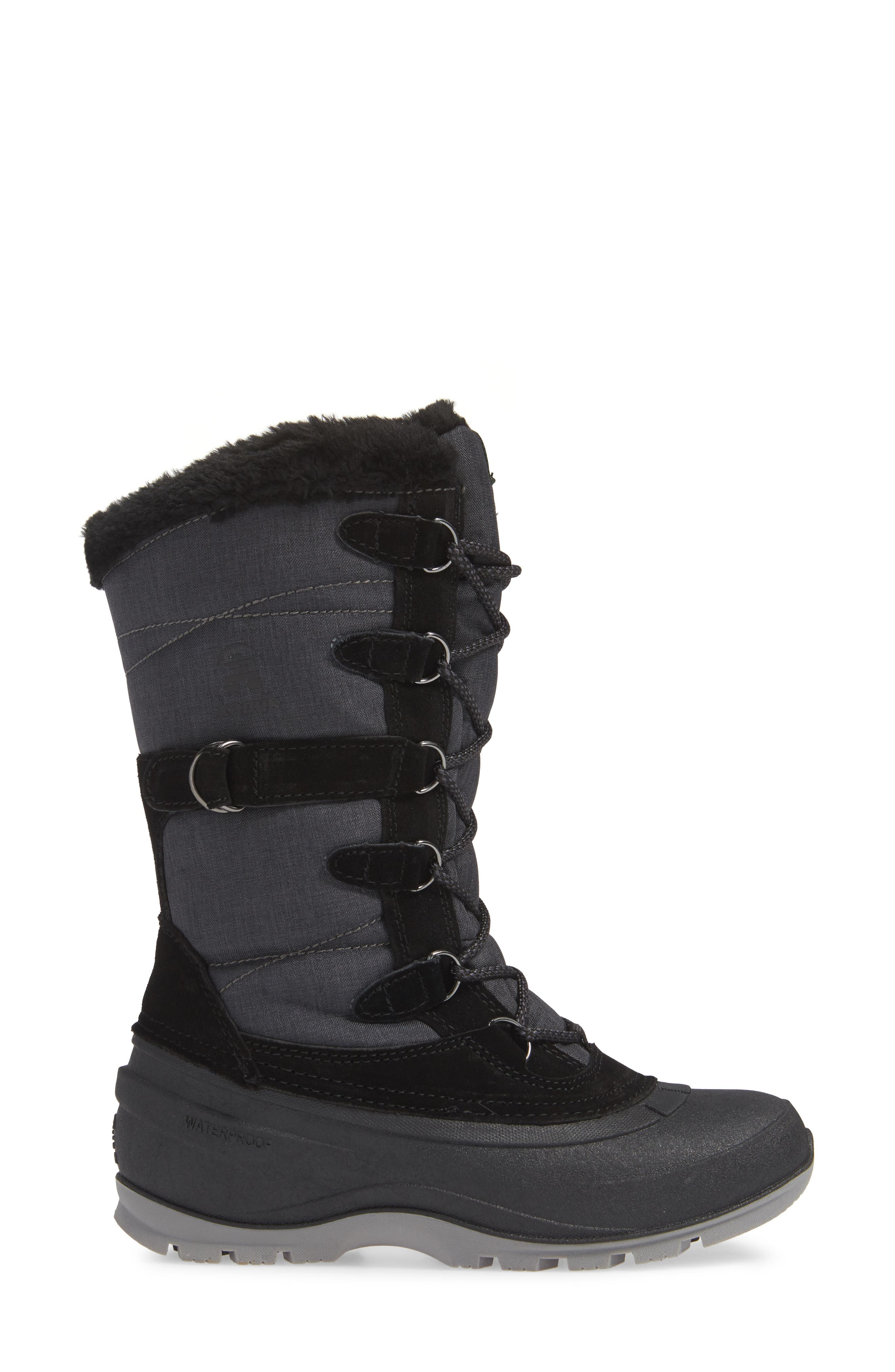 Snovalley2 Waterproof Thinsulate<sup>®</sup>-Insulated Snow Boot,                             Alternate thumbnail 3, color,                             BLACK