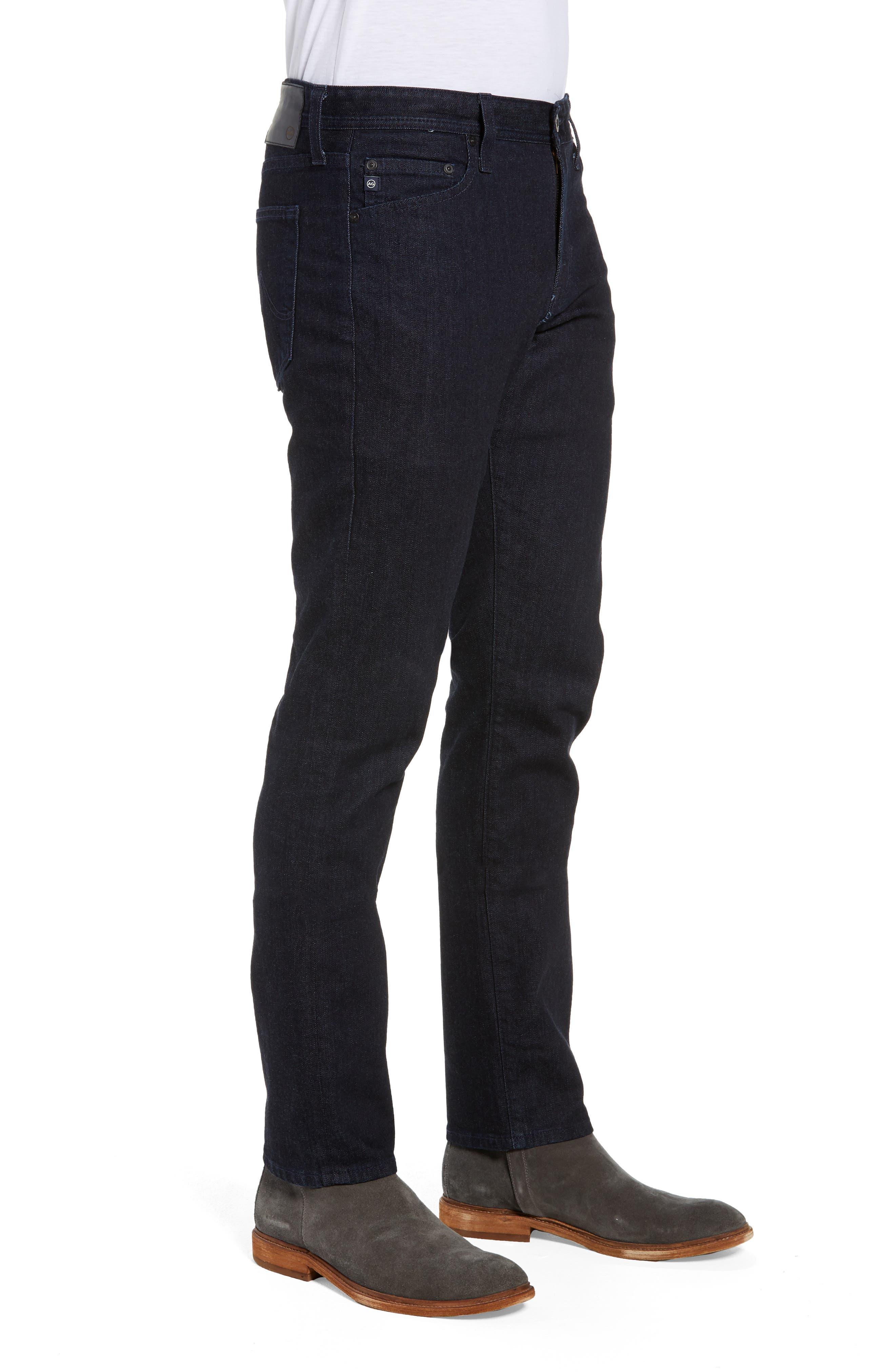 Everett Slim Straight Leg Jeans,                             Alternate thumbnail 3, color,                             BARNES