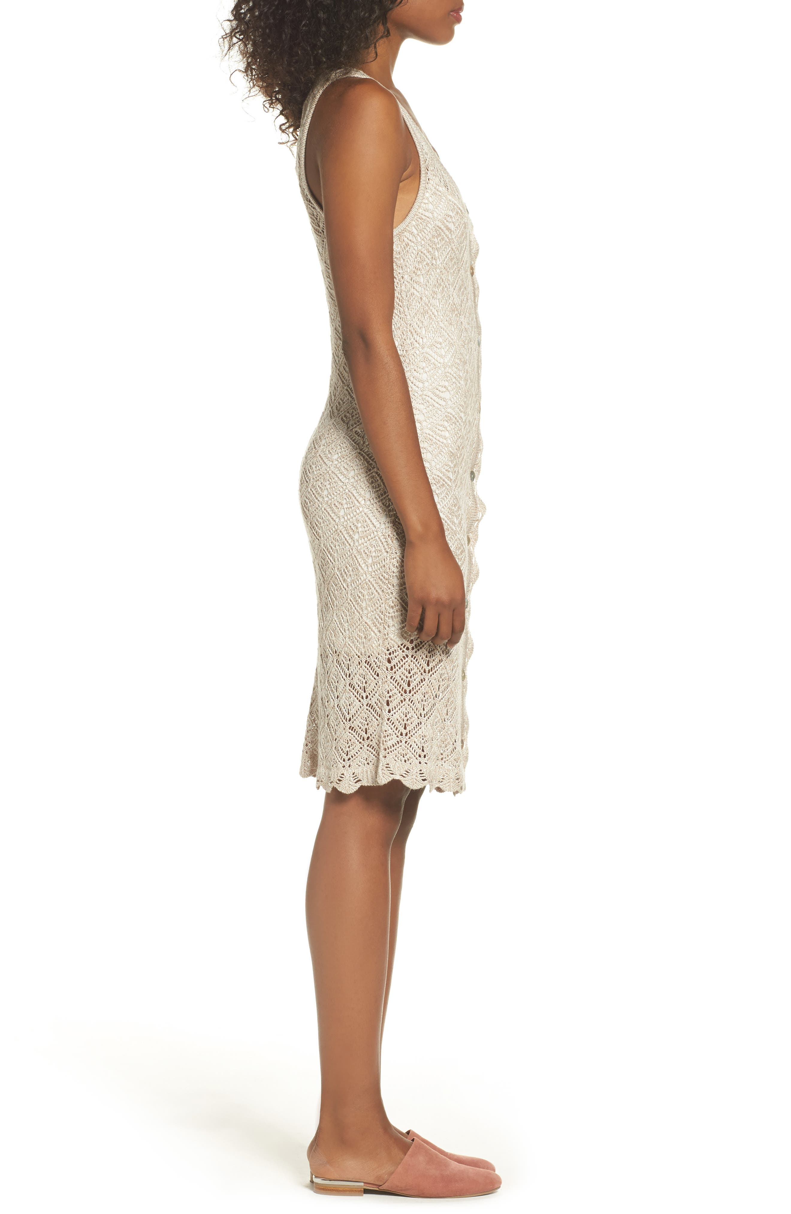 Picnic By The Lagoon Lace Dress,                             Alternate thumbnail 3, color,                             261
