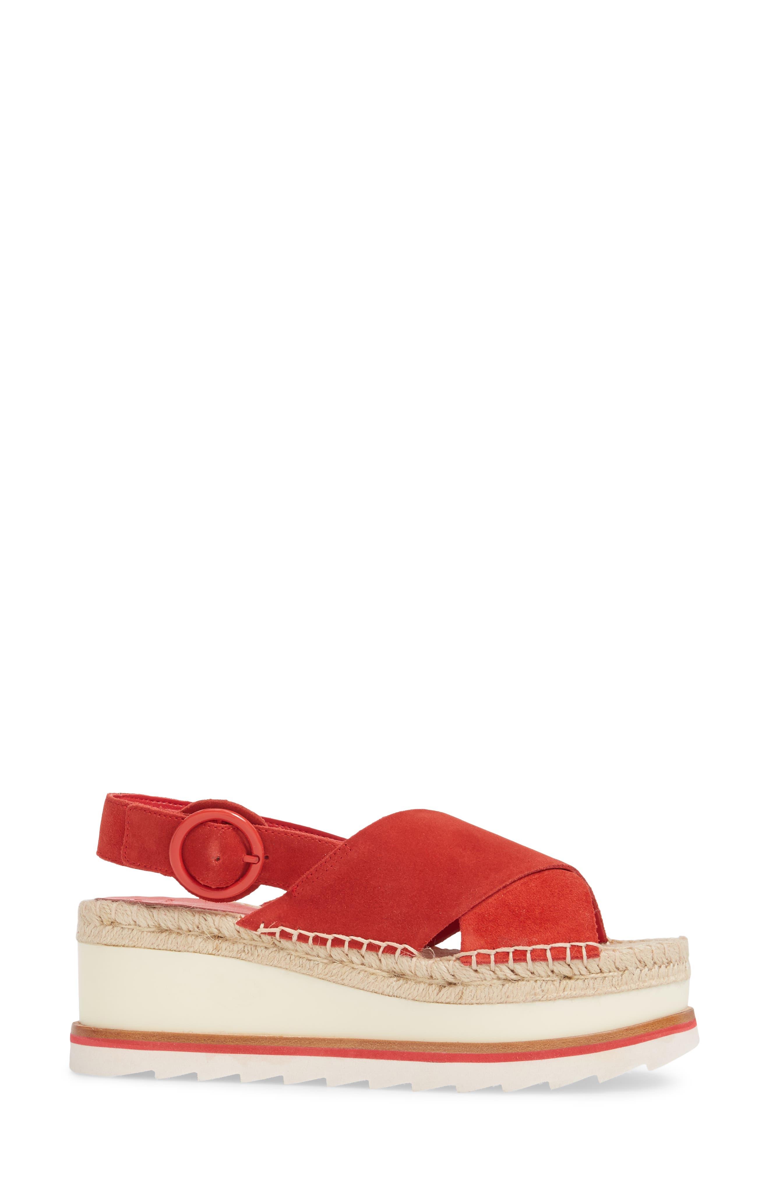 Glenna Platform Slingback Sandal,                             Alternate thumbnail 12, color,