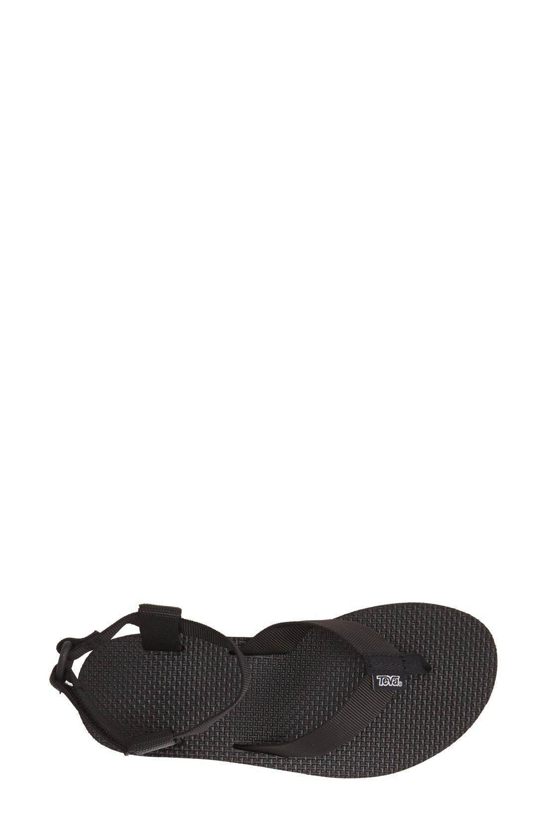 TEVA,                             'Original' Flatform Sandal,                             Alternate thumbnail 2, color,                             001