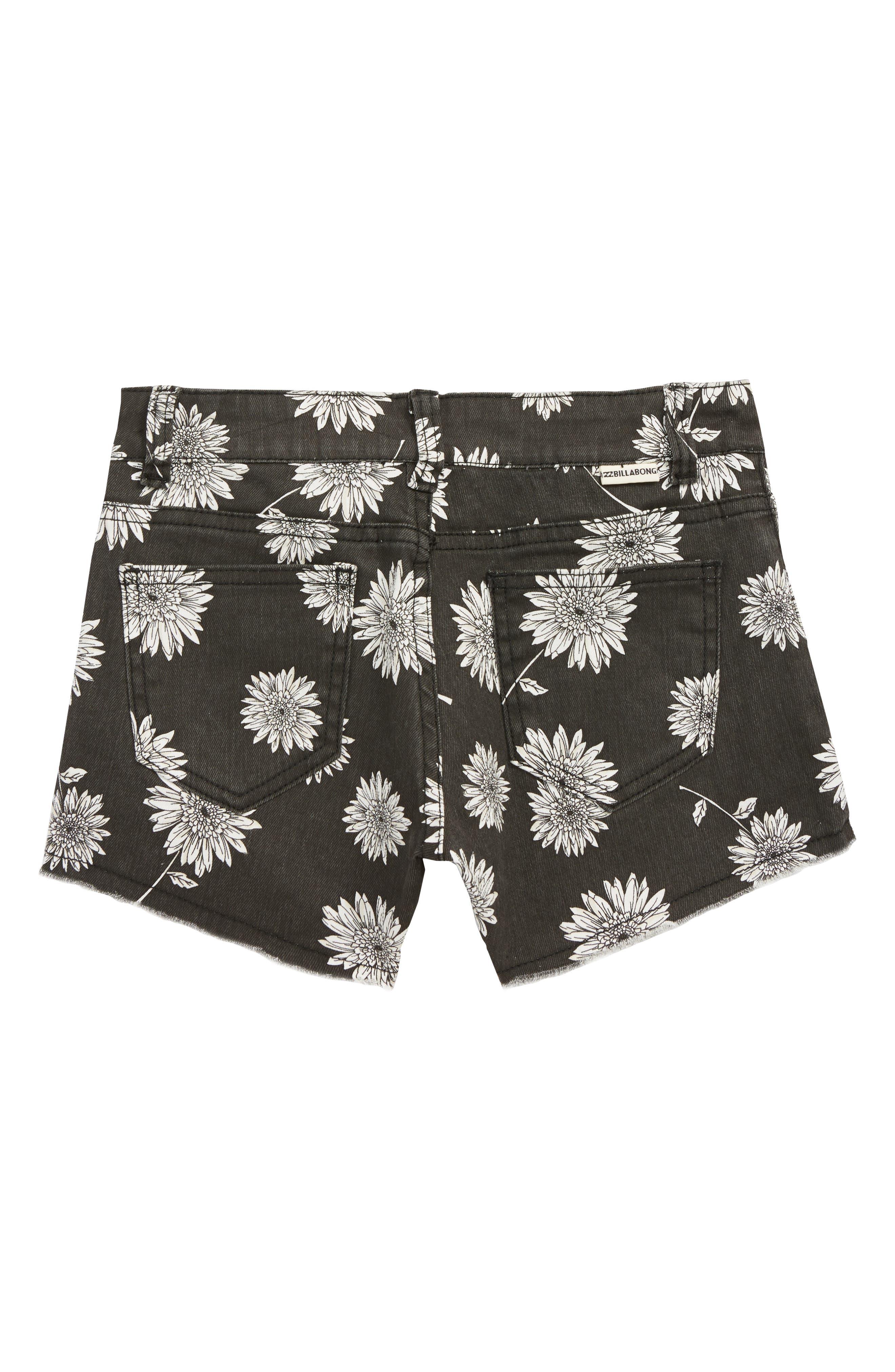 Buttoned Up Denim Shorts,                             Alternate thumbnail 2, color,                             001