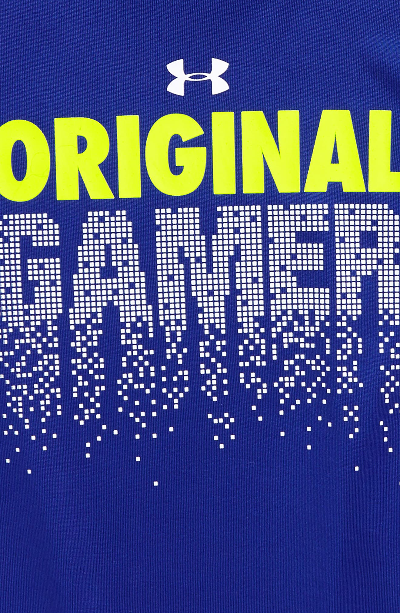 Original Gamer HeatGear<sup>®</sup> T-Shirt,                             Alternate thumbnail 2, color,                             421