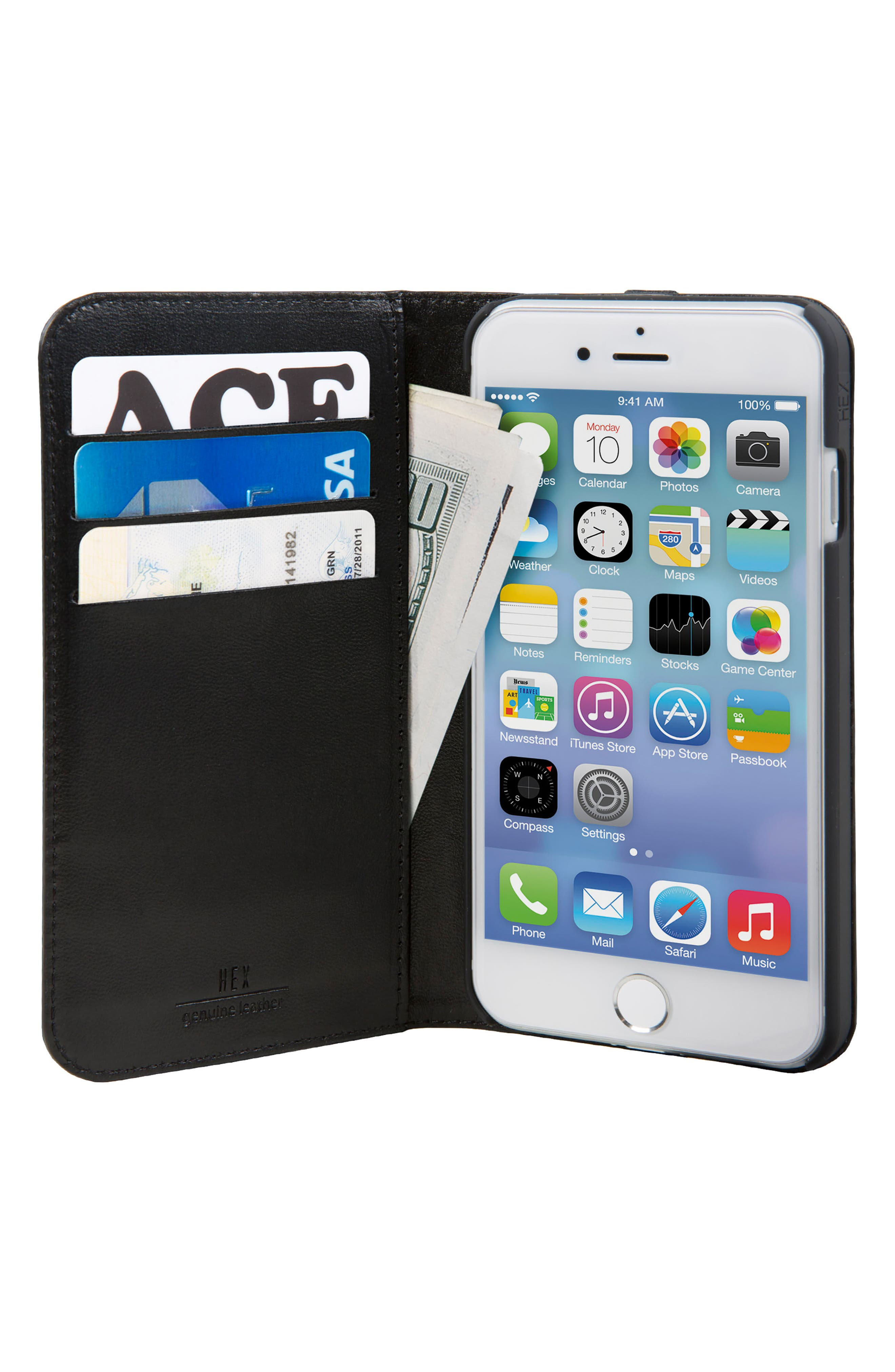 Icon iPhone 6/6s/7/8 Wallet Case,                             Alternate thumbnail 3, color,                             004