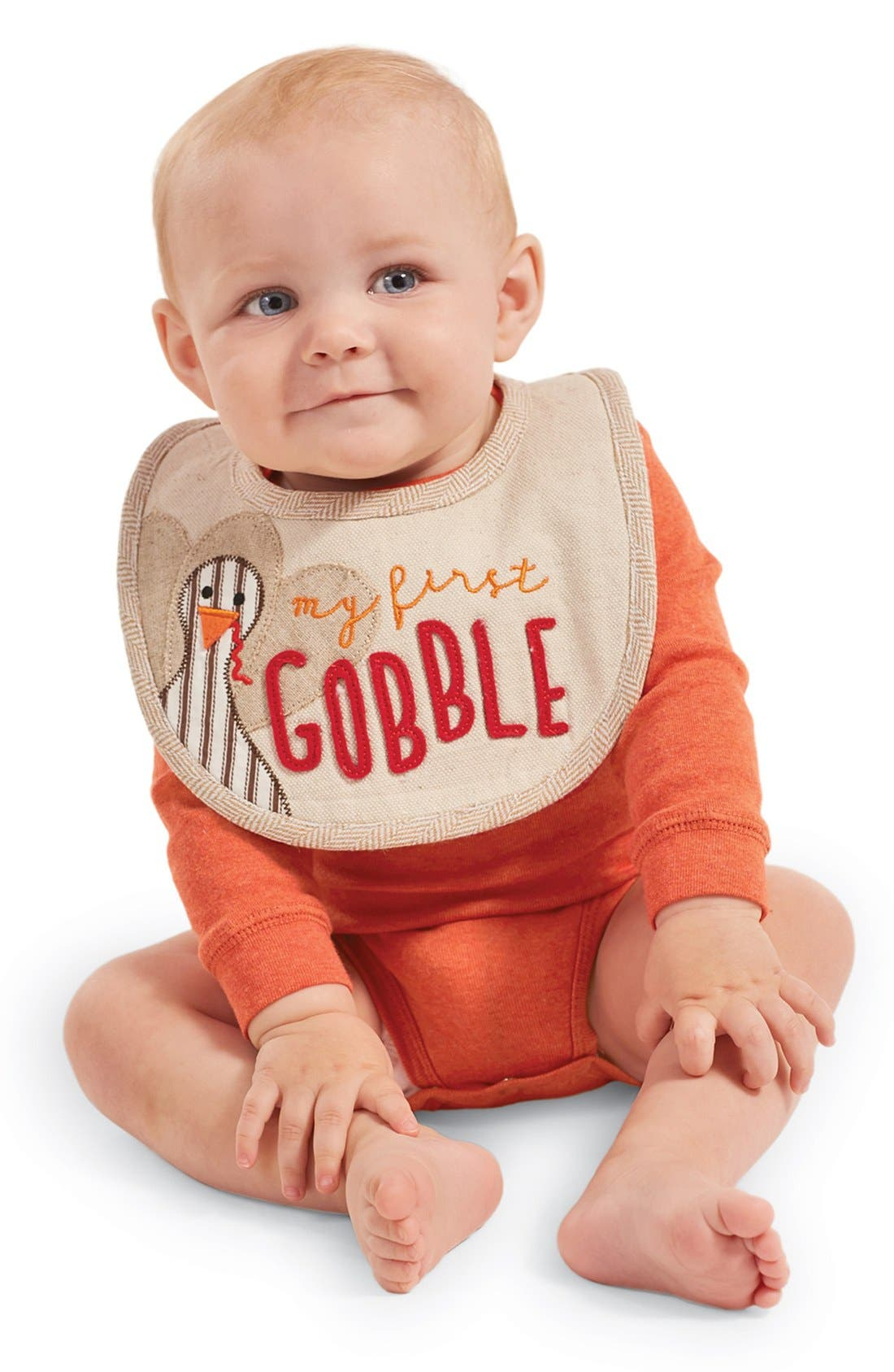 My First Gobble Bib, Main, color, 250