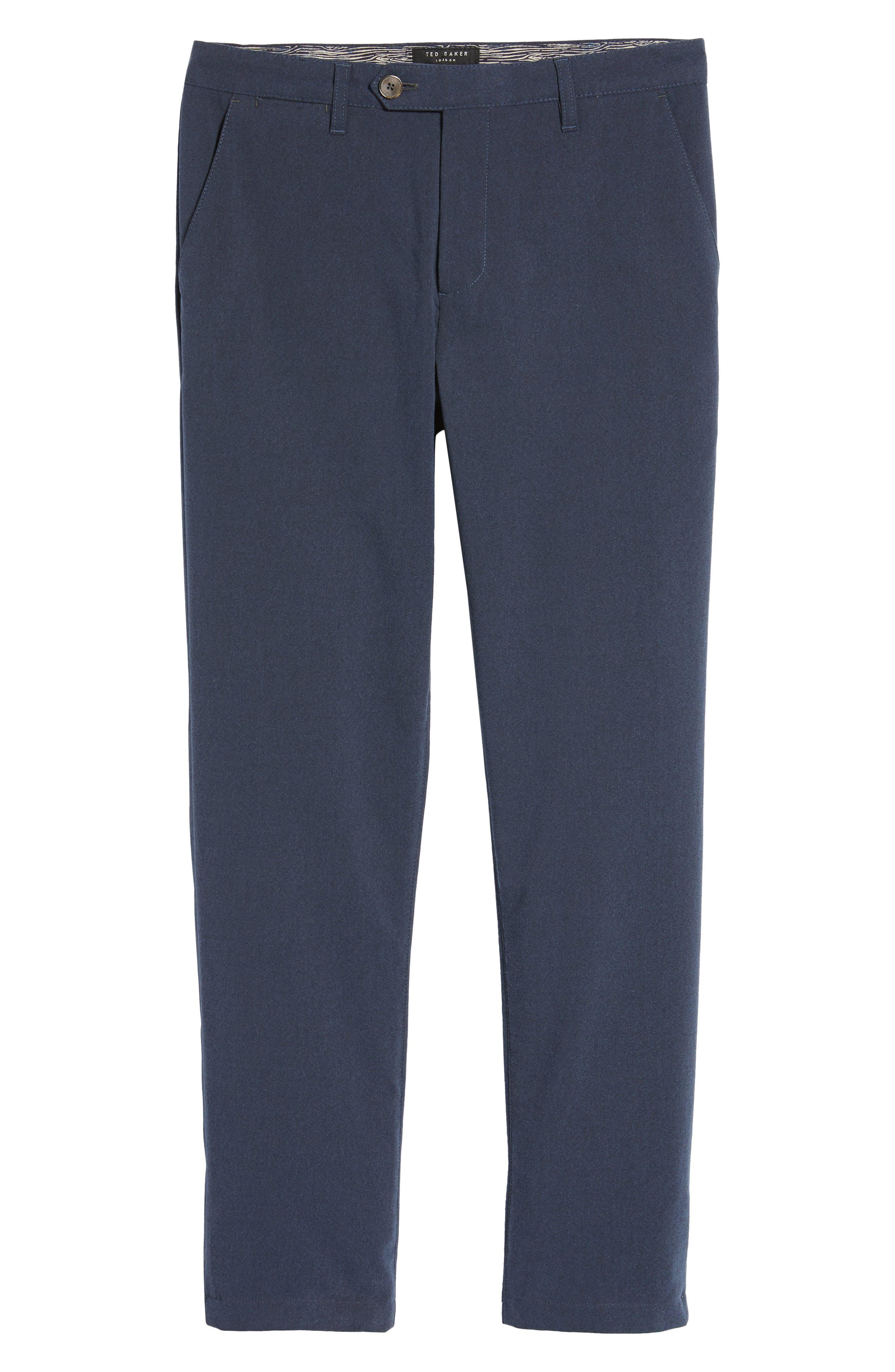 Modern Slim Fit Trousers,                             Alternate thumbnail 18, color,