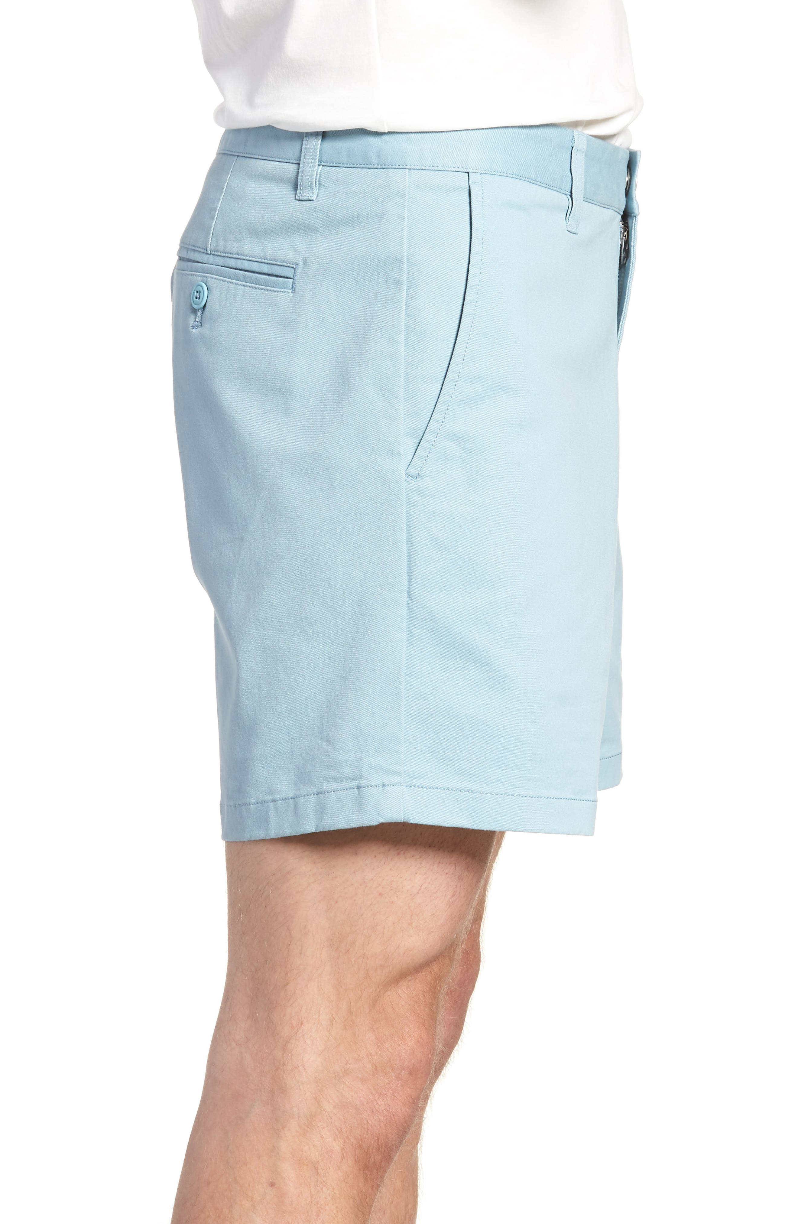 Stretch Washed Chino 5-Inch Shorts,                             Alternate thumbnail 69, color,