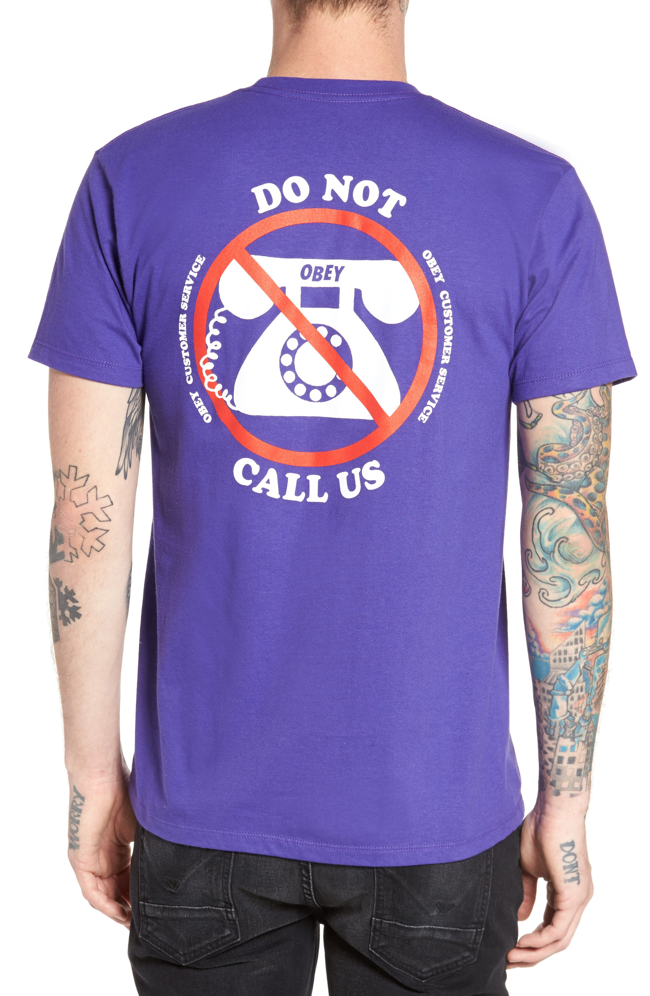 Customer Service Premium Graphic T-Shirt,                             Alternate thumbnail 2, color,                             540
