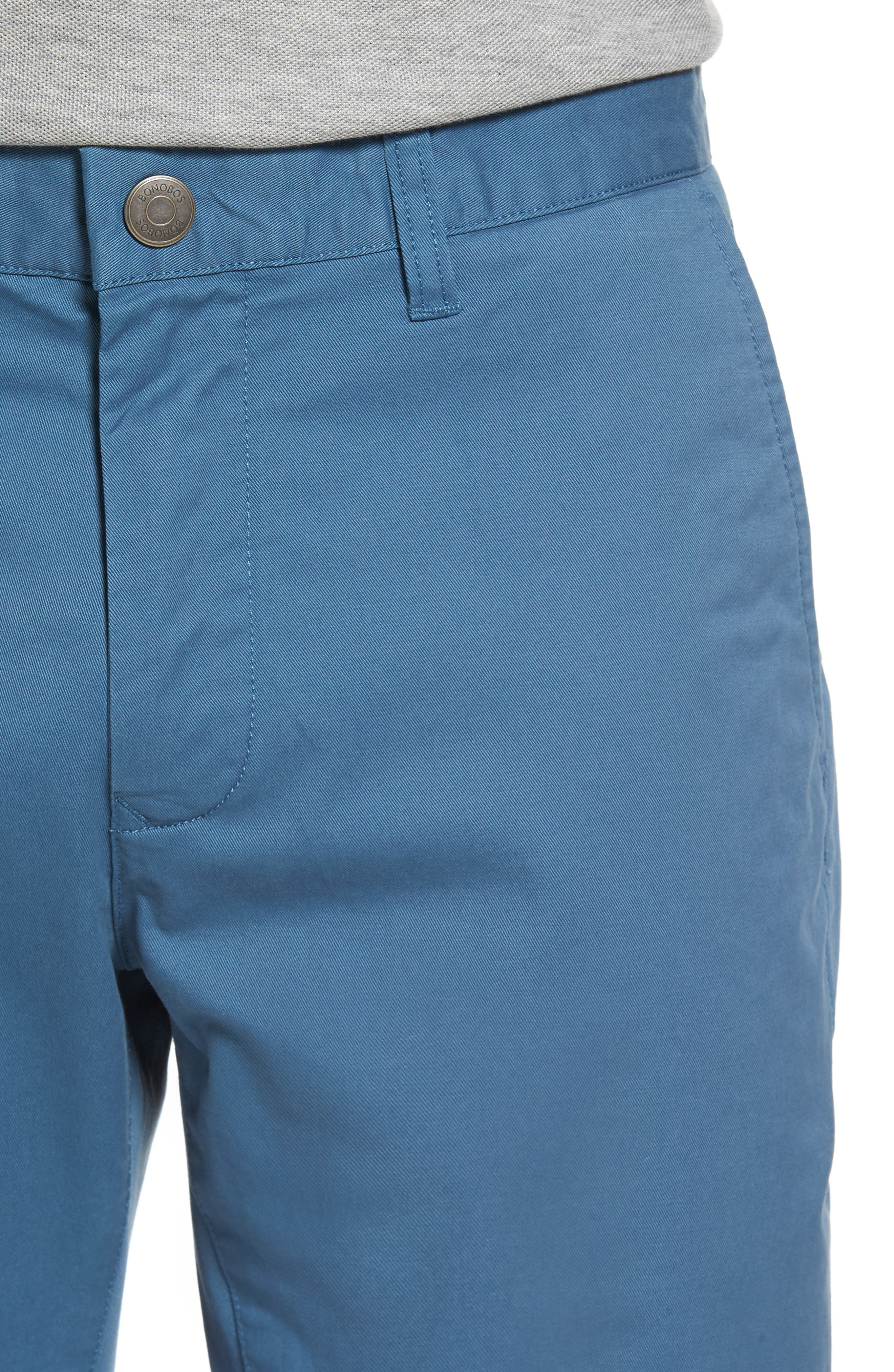 Tailored Fit Washed Stretch Cotton Chinos,                             Alternate thumbnail 118, color,