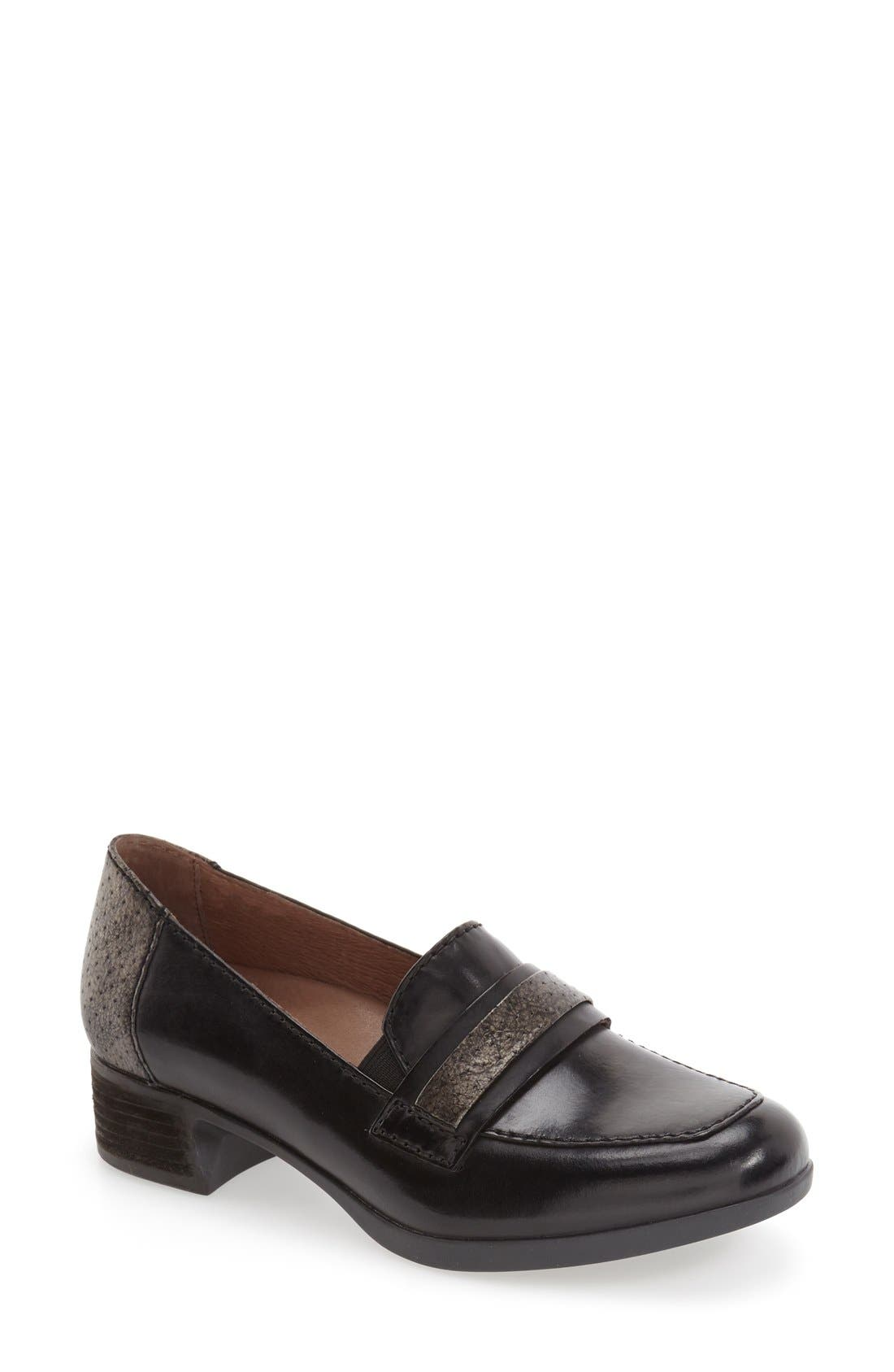 'Lila' Loafer,                         Main,                         color, 001