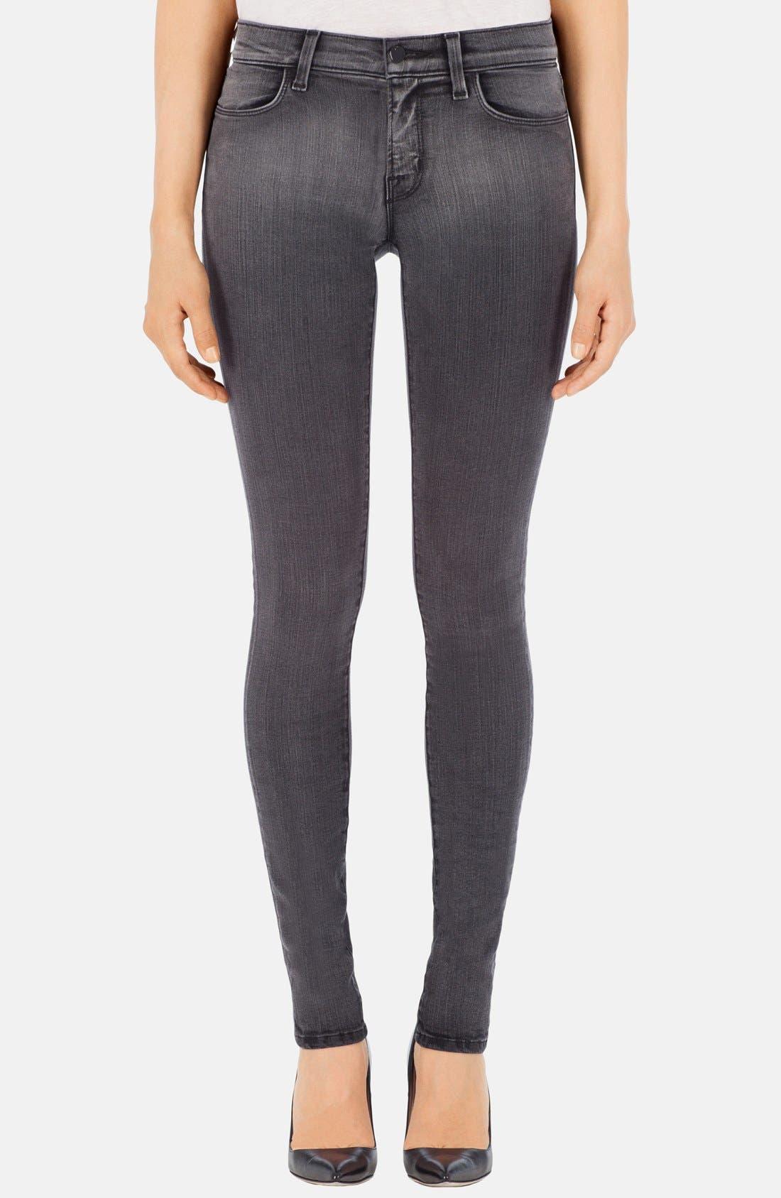 '620' Mid Rise Skinny Jeans,                             Main thumbnail 6, color,