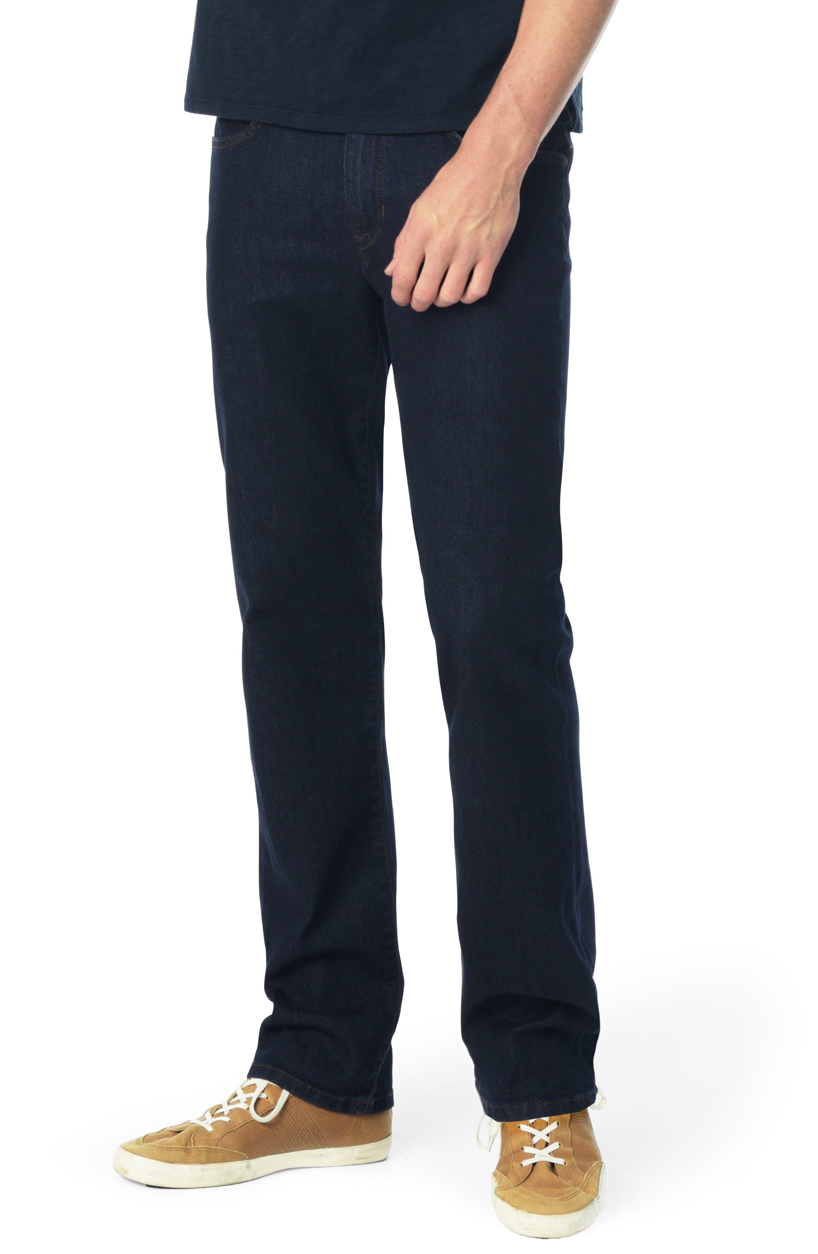 Classic Straight Leg Jeans,                             Main thumbnail 1, color,                             ROCK