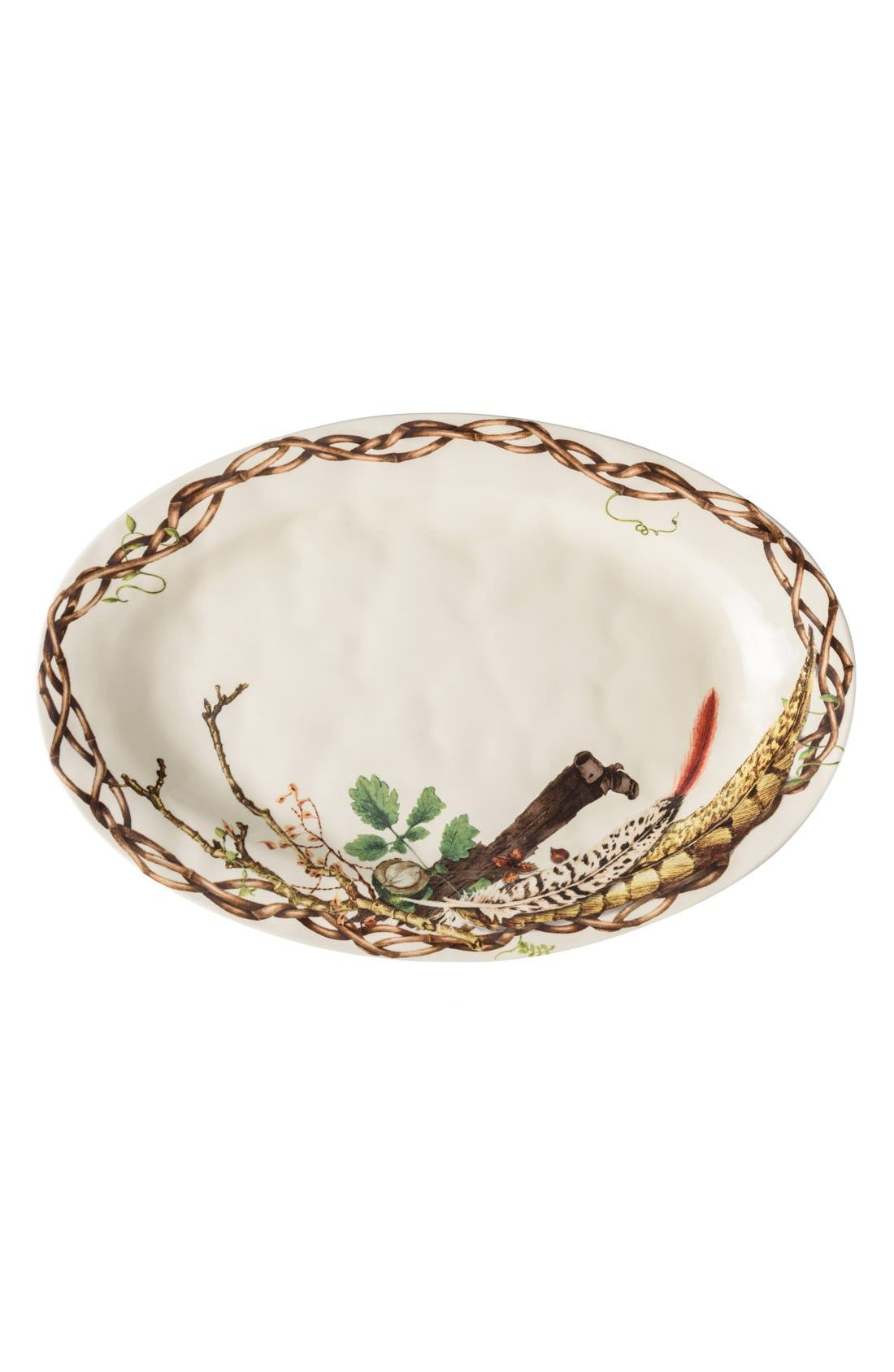 Forest Walk Oval Ceramic Platter,                             Main thumbnail 1, color,                             250