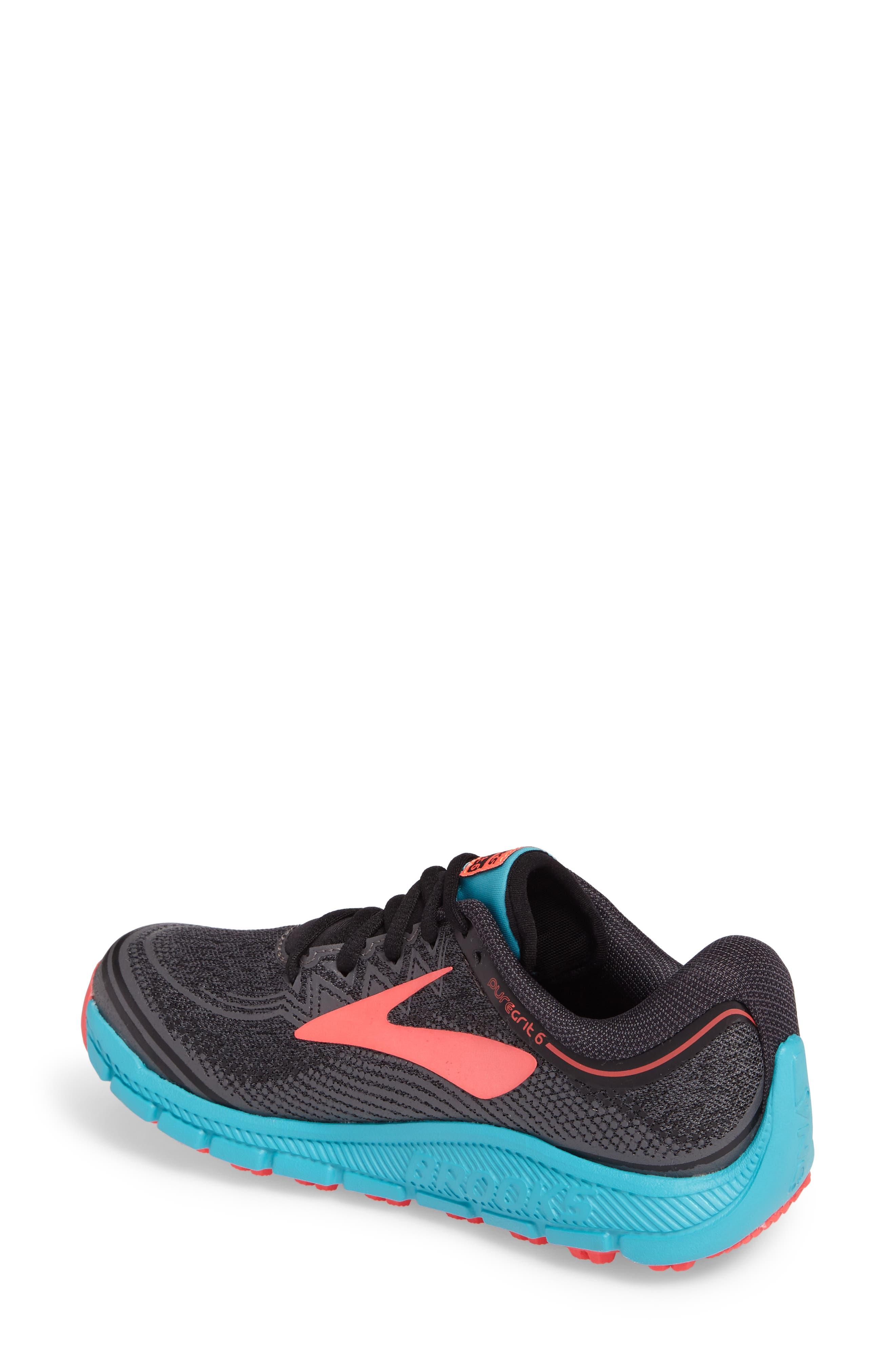 PureGrit 6 Trail Running Shoe,                             Alternate thumbnail 2, color,                             014