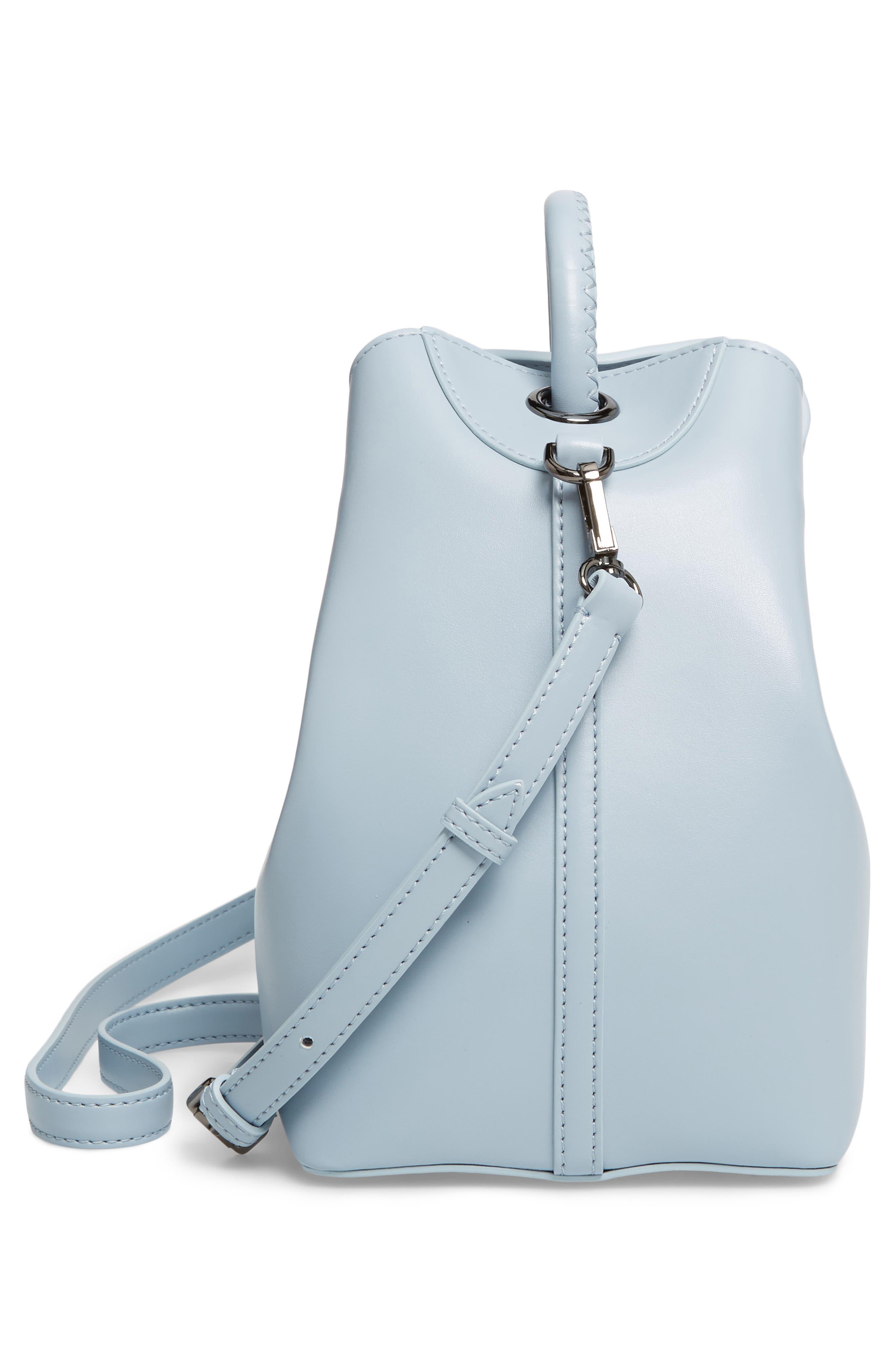 Raisin Leather Handbag,                             Alternate thumbnail 37, color,