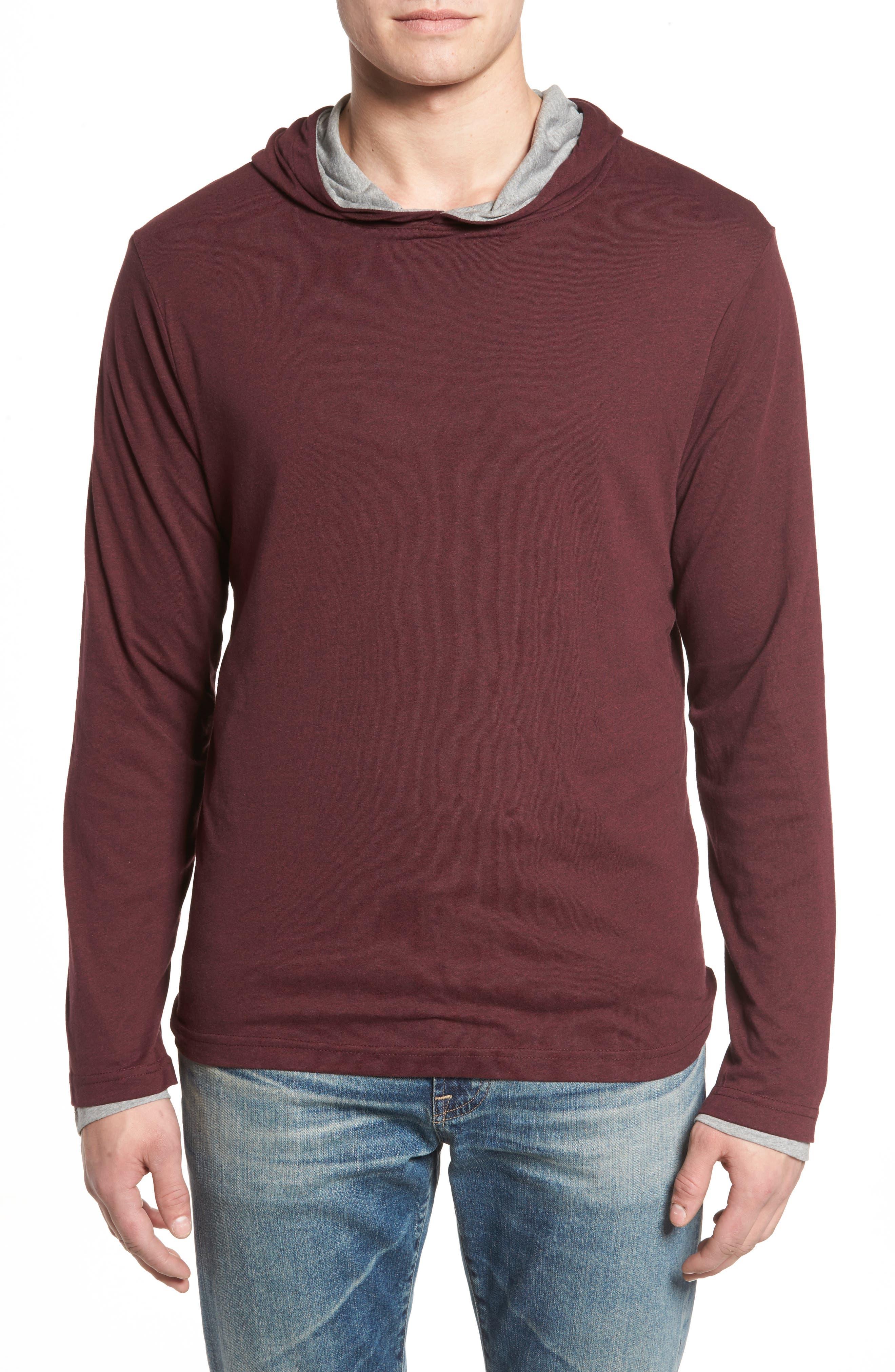 Reversible Hooded Jersey T-Shirt,                             Main thumbnail 3, color,