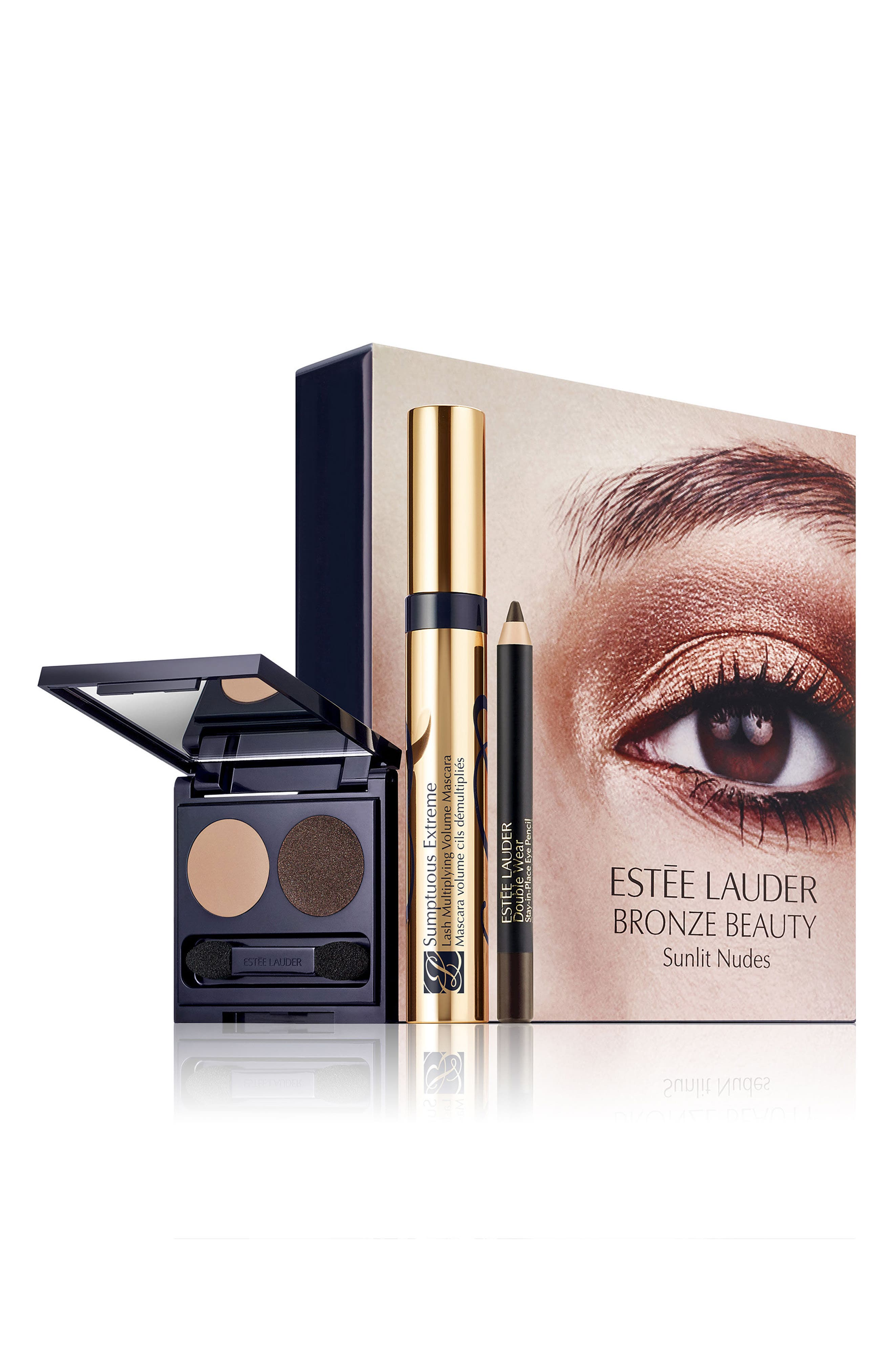 Nude Eye Set,                             Main thumbnail 1, color,                             000