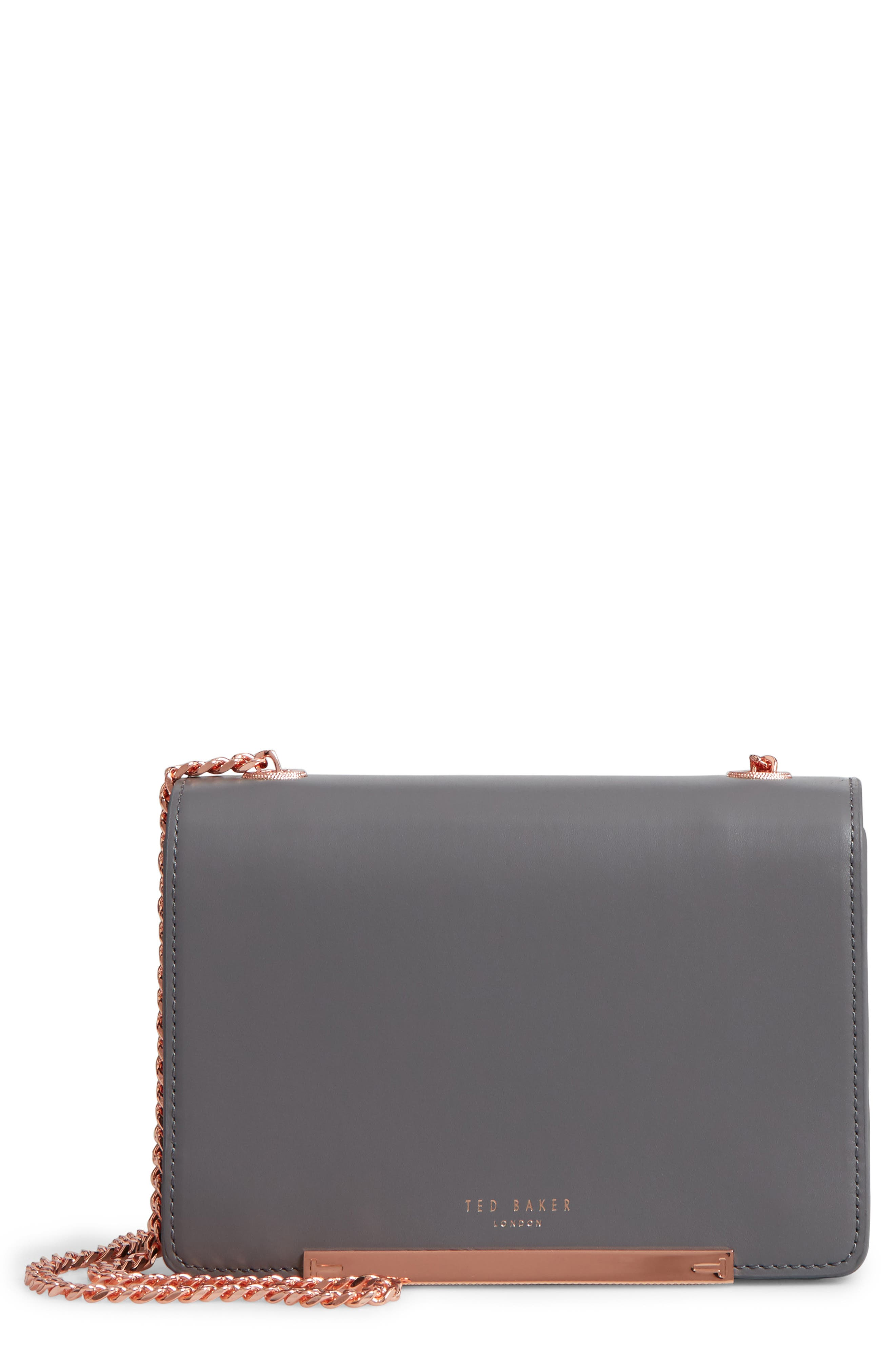 Earie Leather Crossbody Bag,                         Main,                         color, 020