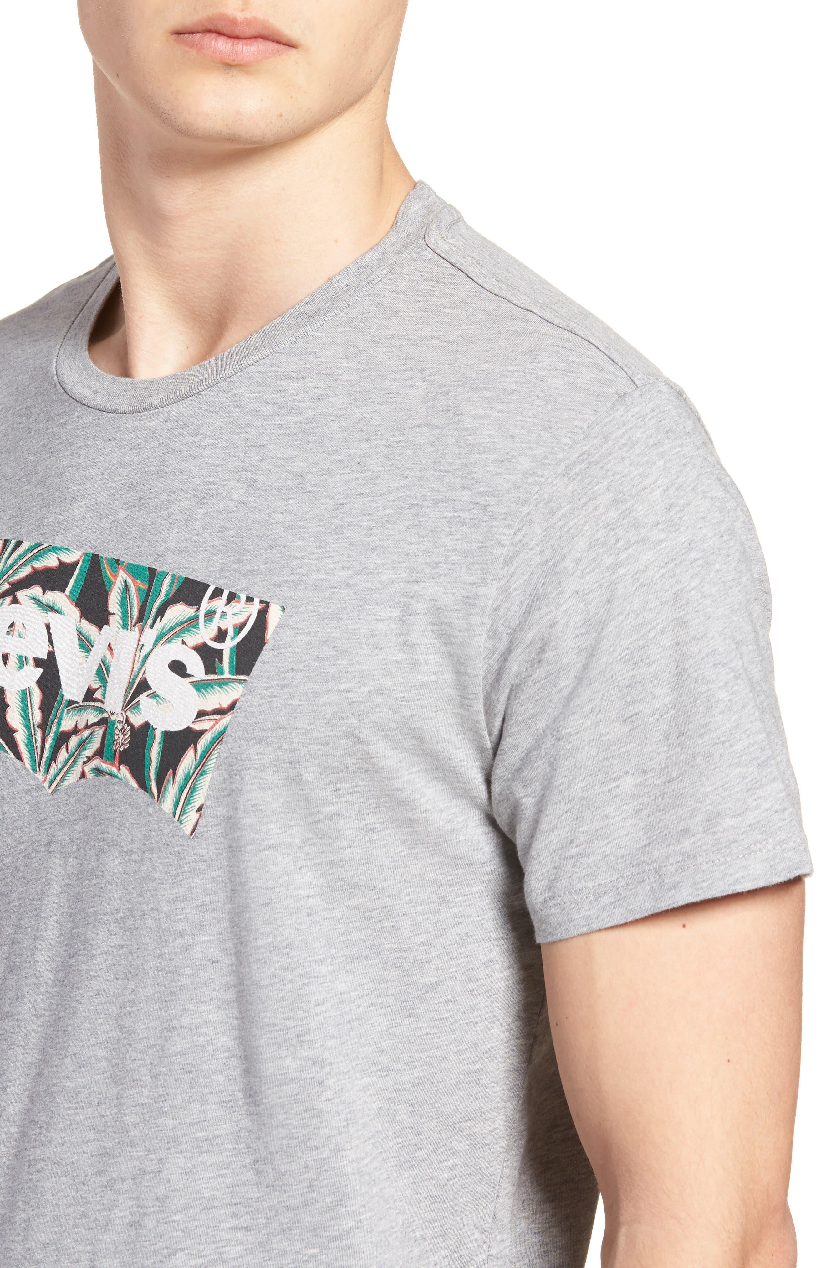 Housemark Graphic T-Shirt,                             Alternate thumbnail 4, color,                             020