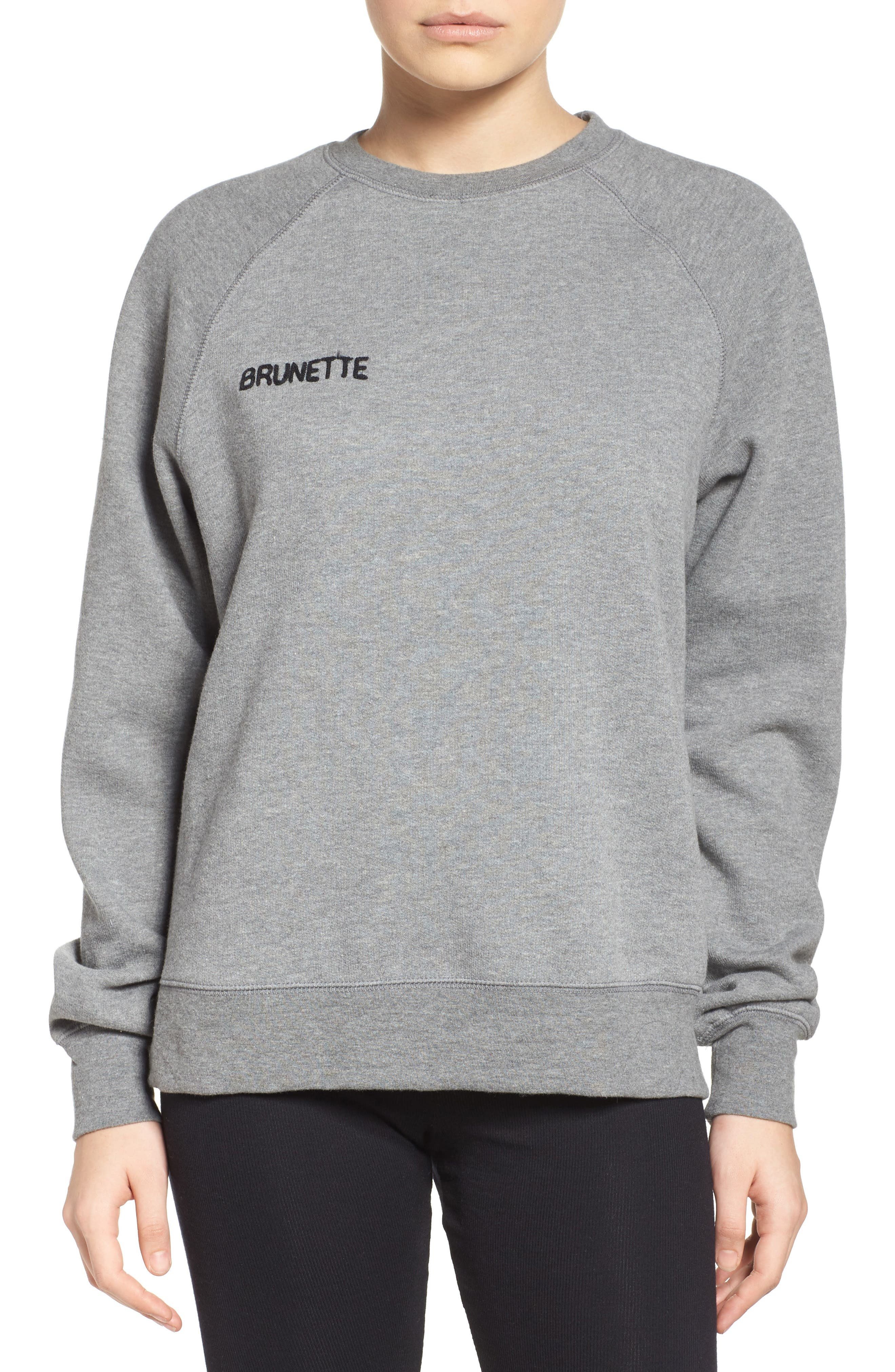 Crewneck Sweatshirt,                             Main thumbnail 1, color,                             030