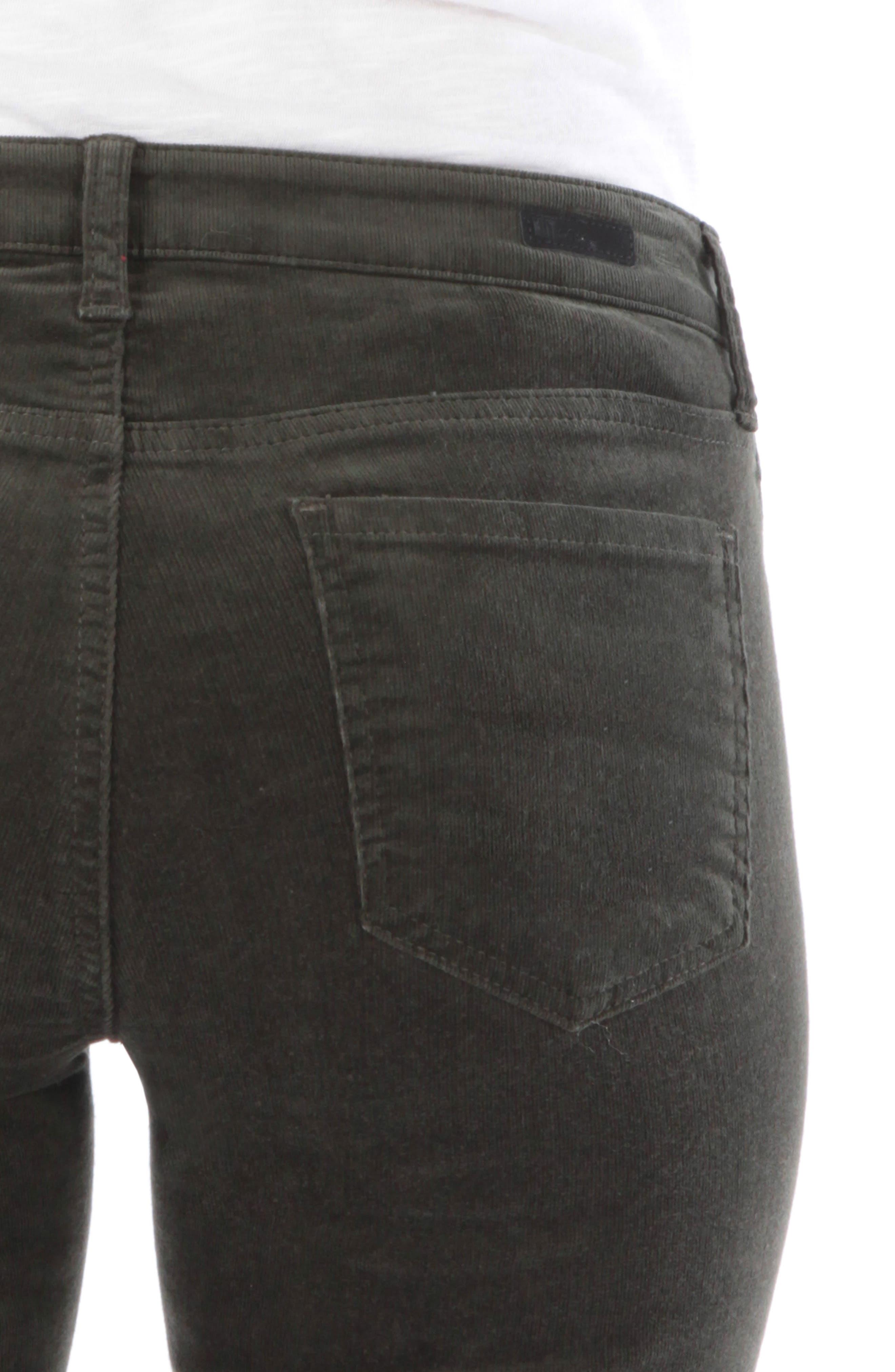 'Diana' Stretch Corduroy Skinny Pants,                             Alternate thumbnail 165, color,
