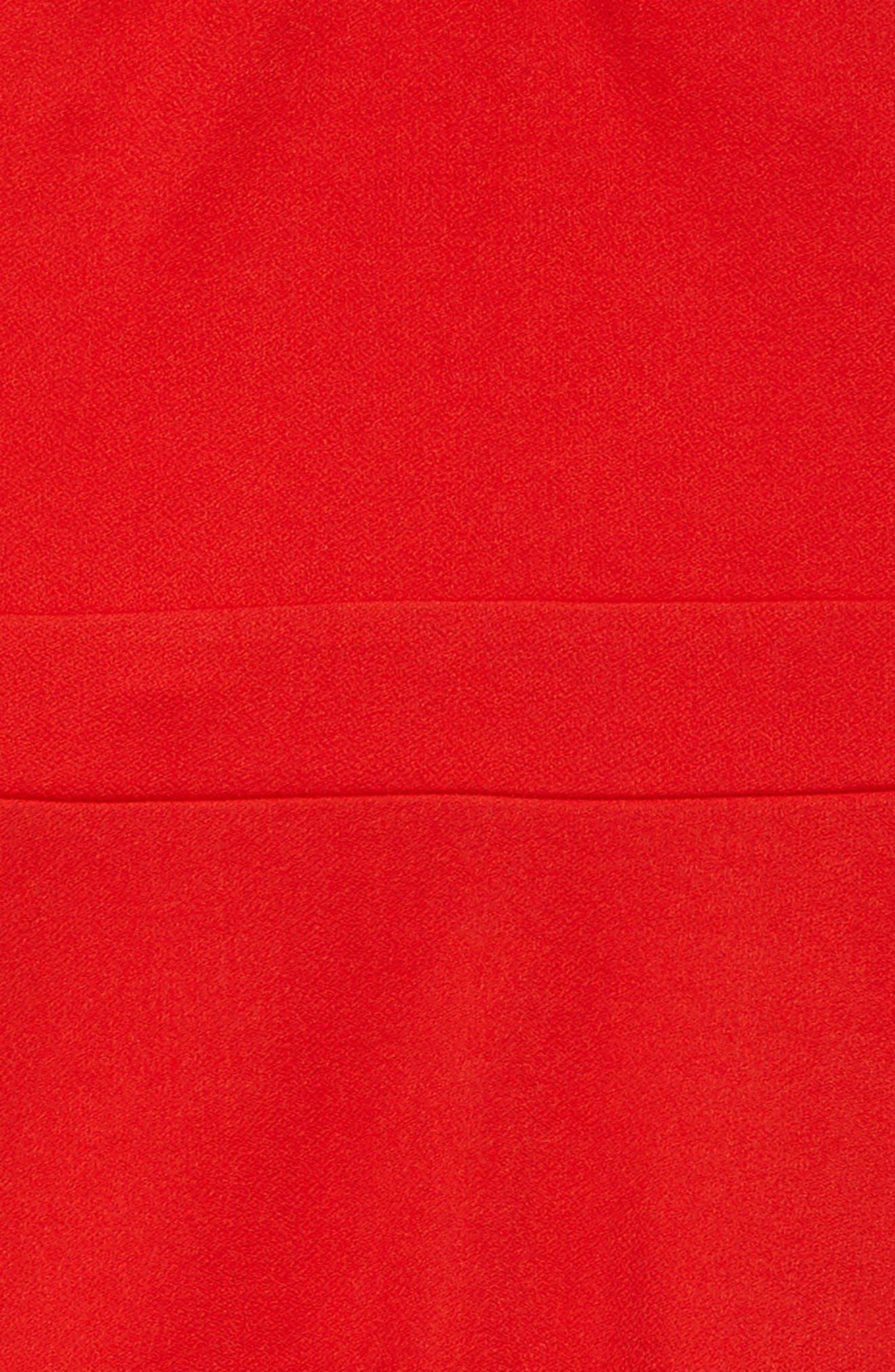 High Neck Sheath Dress,                             Alternate thumbnail 3, color,                             888