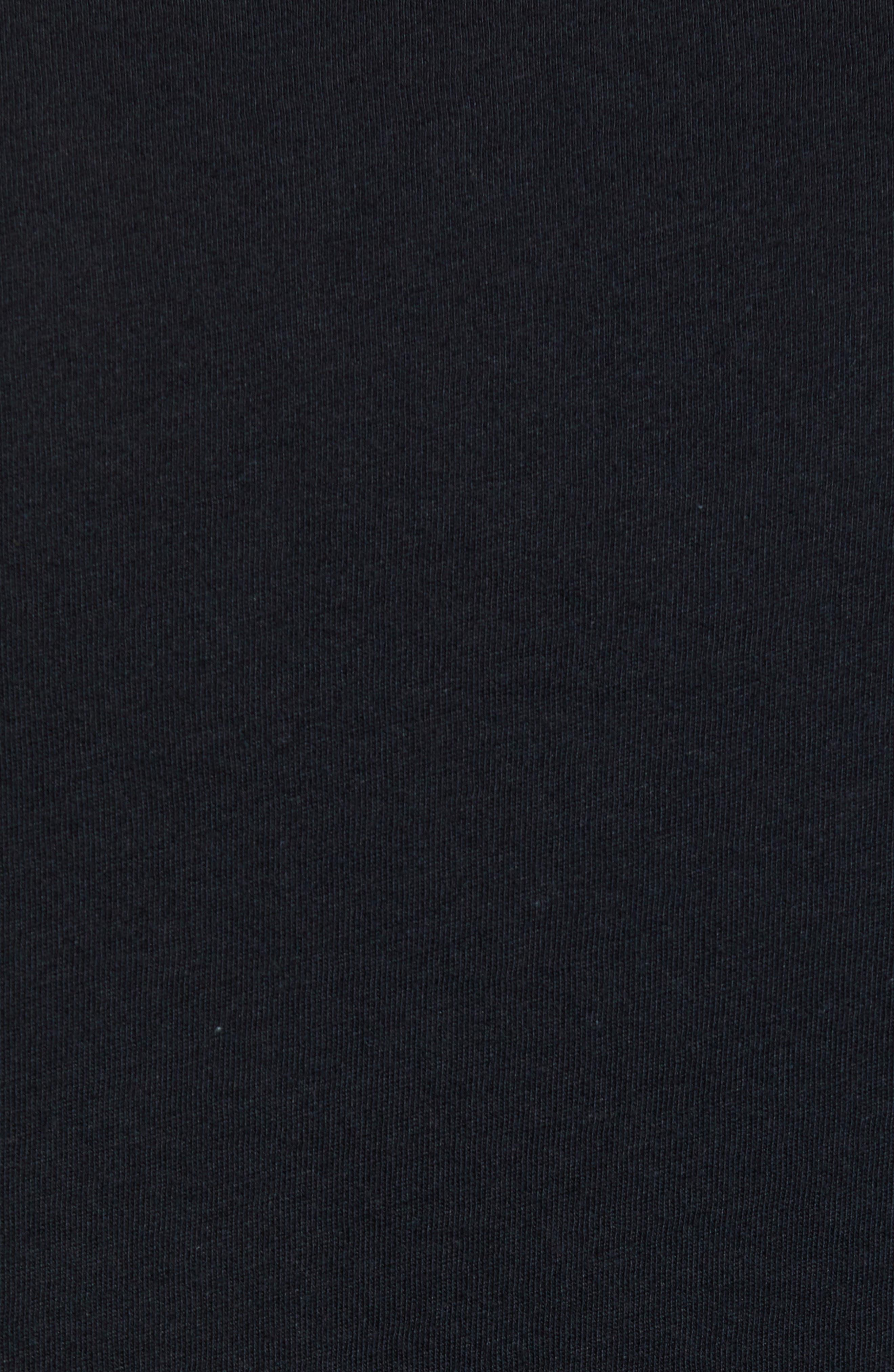 Tube Trekker Organic Cotton T-Shirt,                             Alternate thumbnail 5, color,                             BLACK