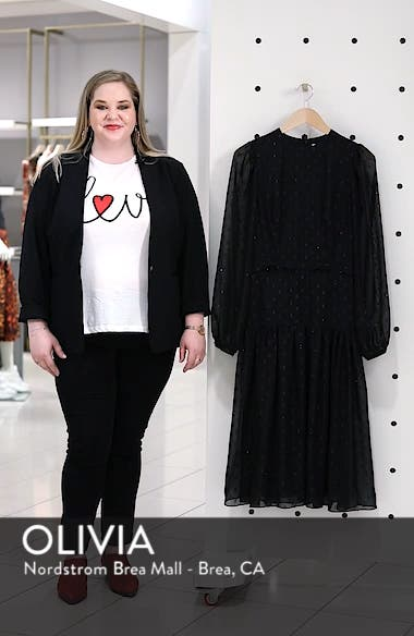 Fil Coupé Midi Dress, sales video thumbnail