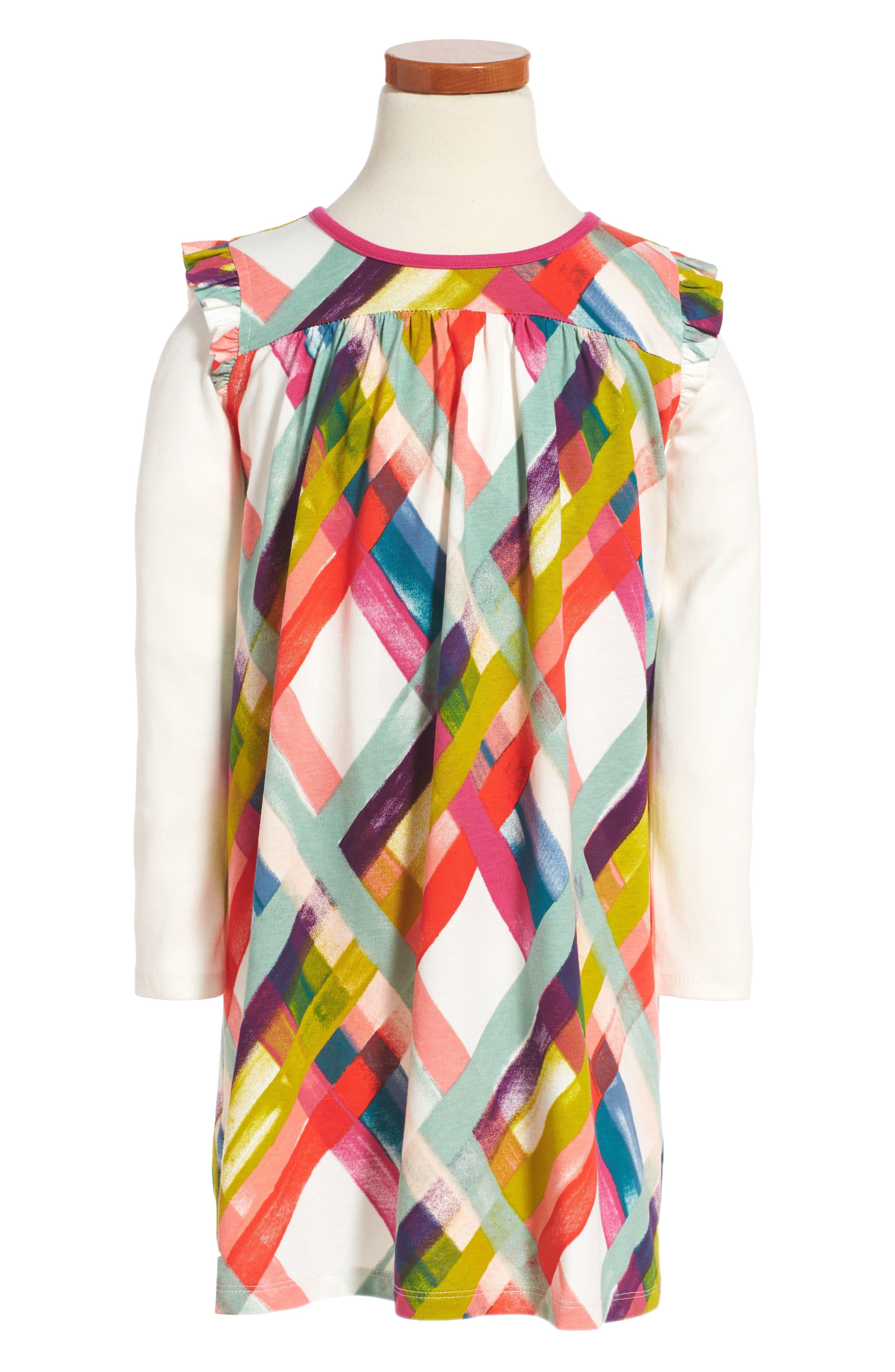 Plaid Mighty Mini Dress,                             Main thumbnail 1, color,                             903