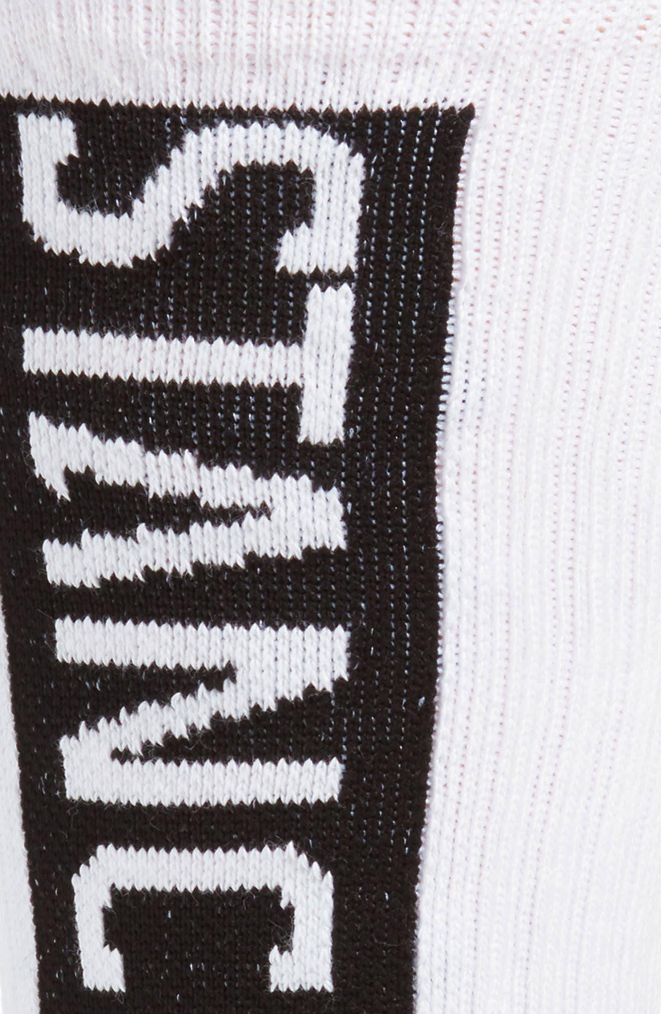 OG Crew Socks,                             Alternate thumbnail 2, color,                             WHITE