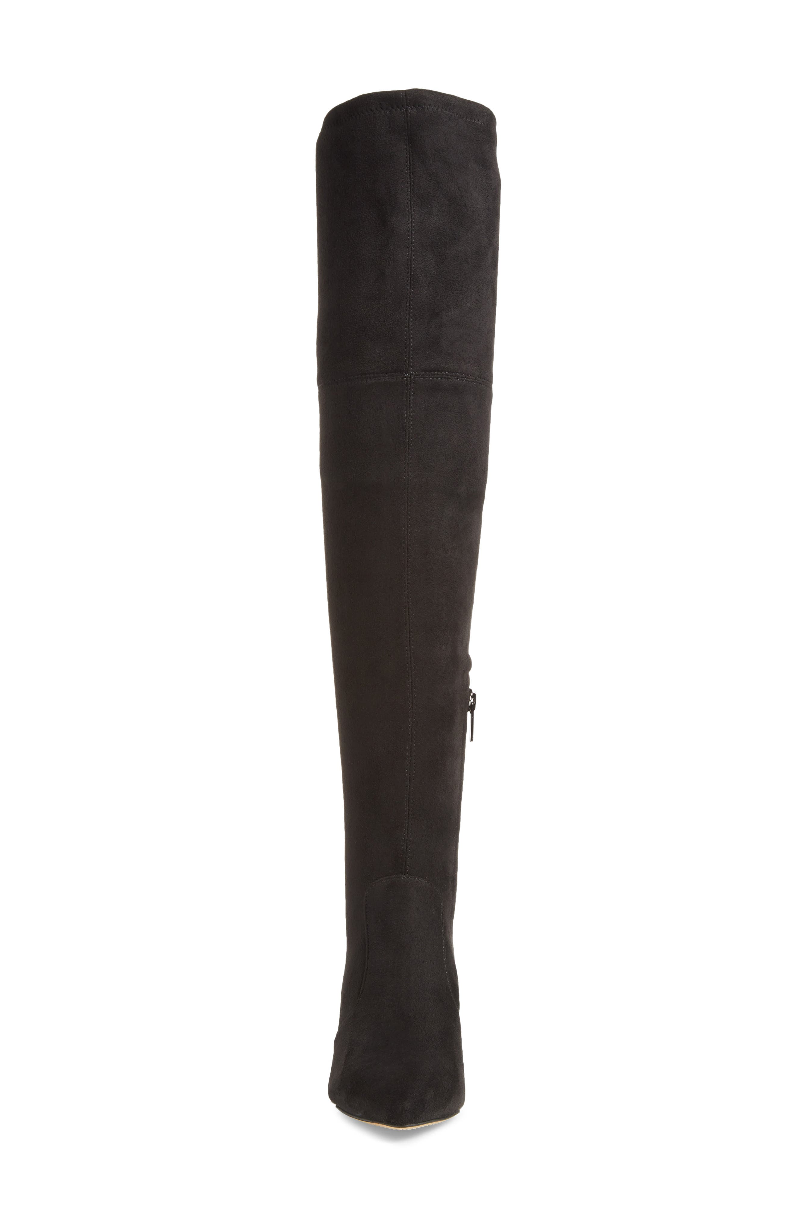 VINCE CAMUTO,                             Ashlina Over the Knee Boot,                             Alternate thumbnail 4, color,                             001