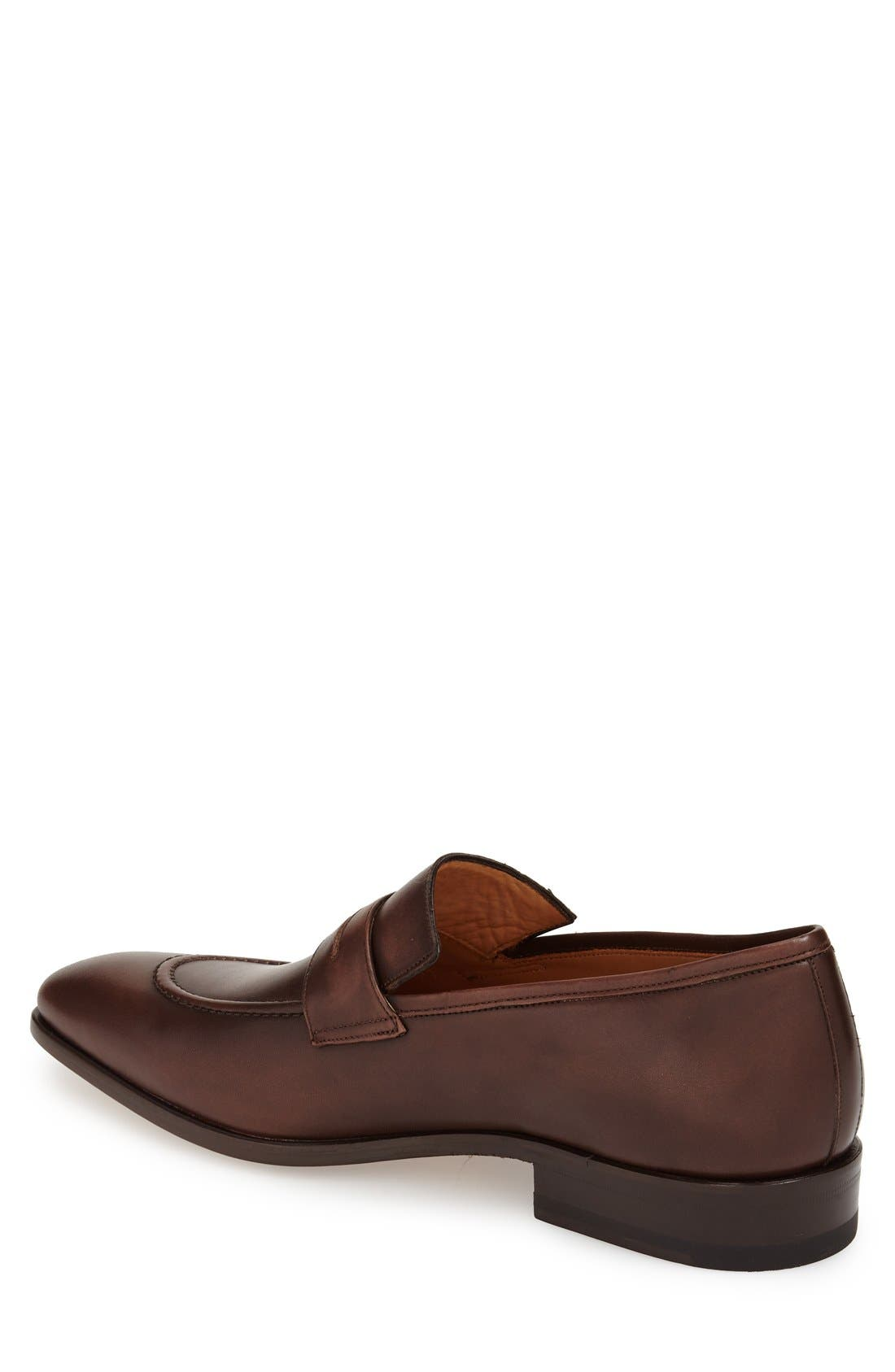 'Bione' Penny Loafer,                             Alternate thumbnail 4, color,