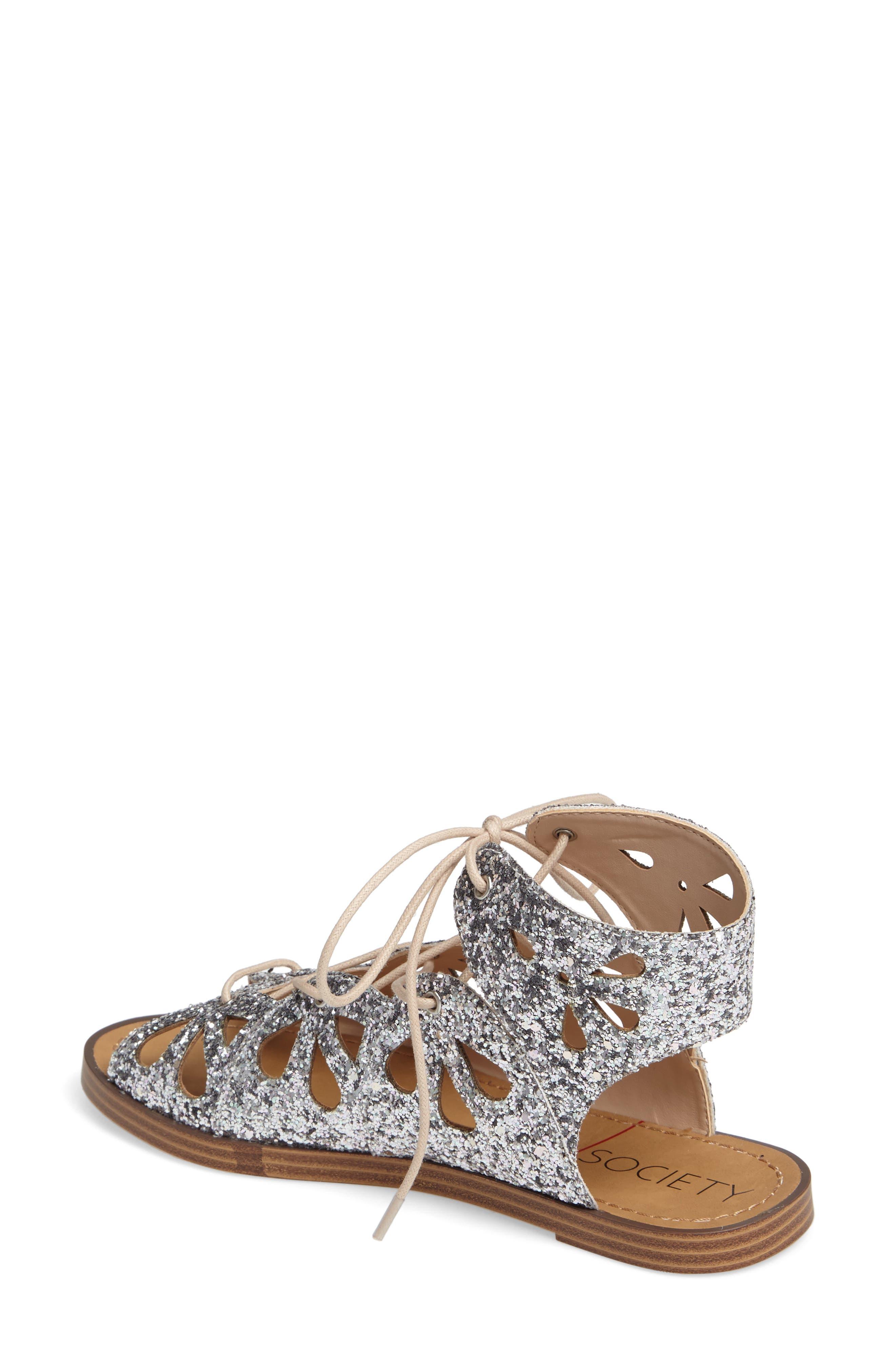 Lylia Glitter Sandal,                             Alternate thumbnail 2, color,                             040