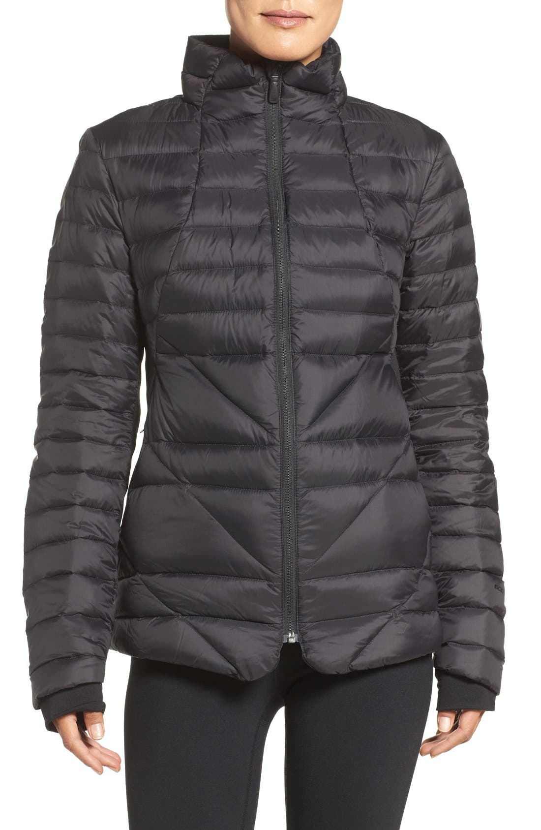 THE NORTH FACE,                             Lucia Hybrid Down Jacket,                             Main thumbnail 1, color,                             001