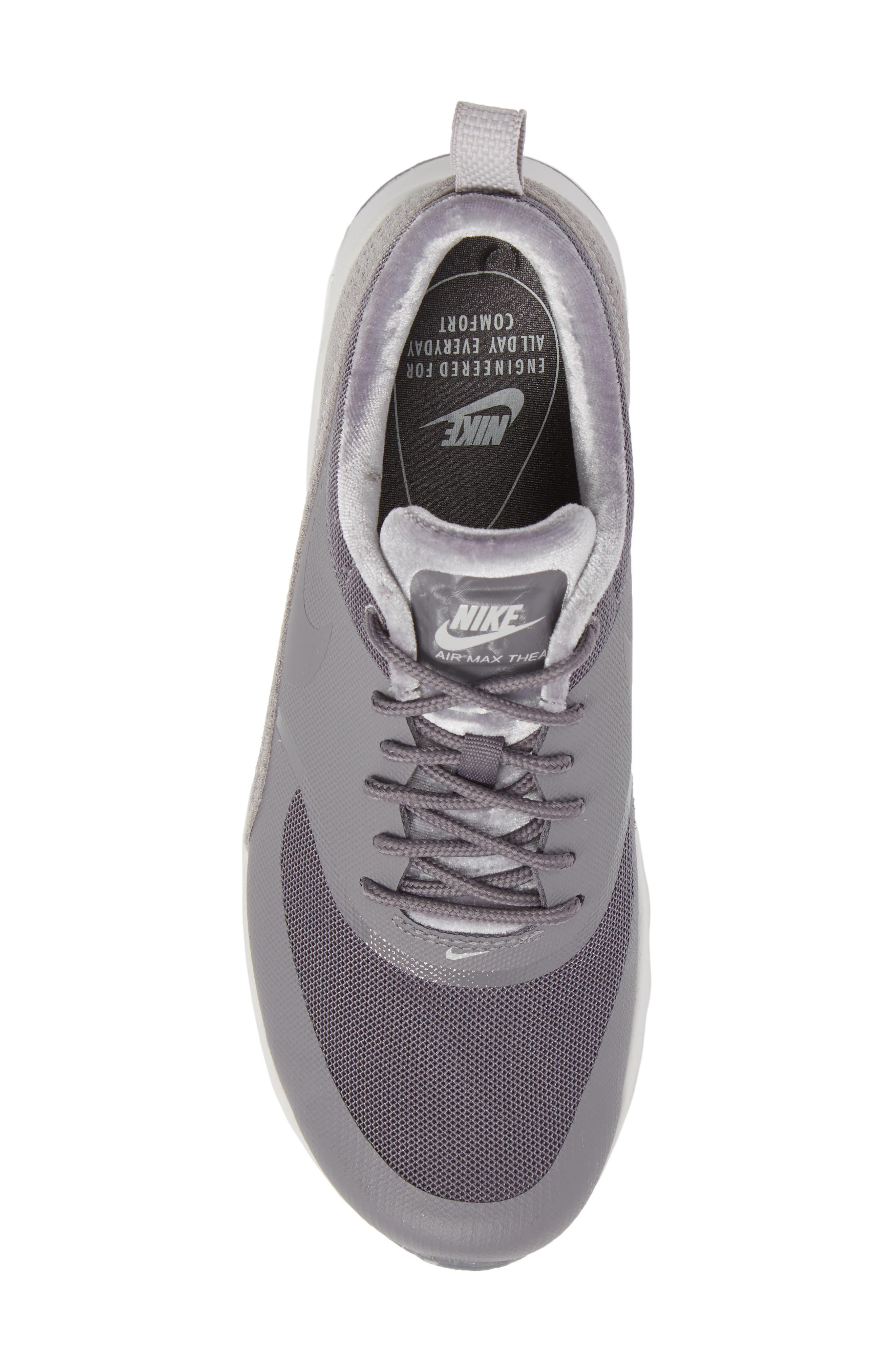 Air Max Thea LX Sneaker,                             Alternate thumbnail 5, color,                             022