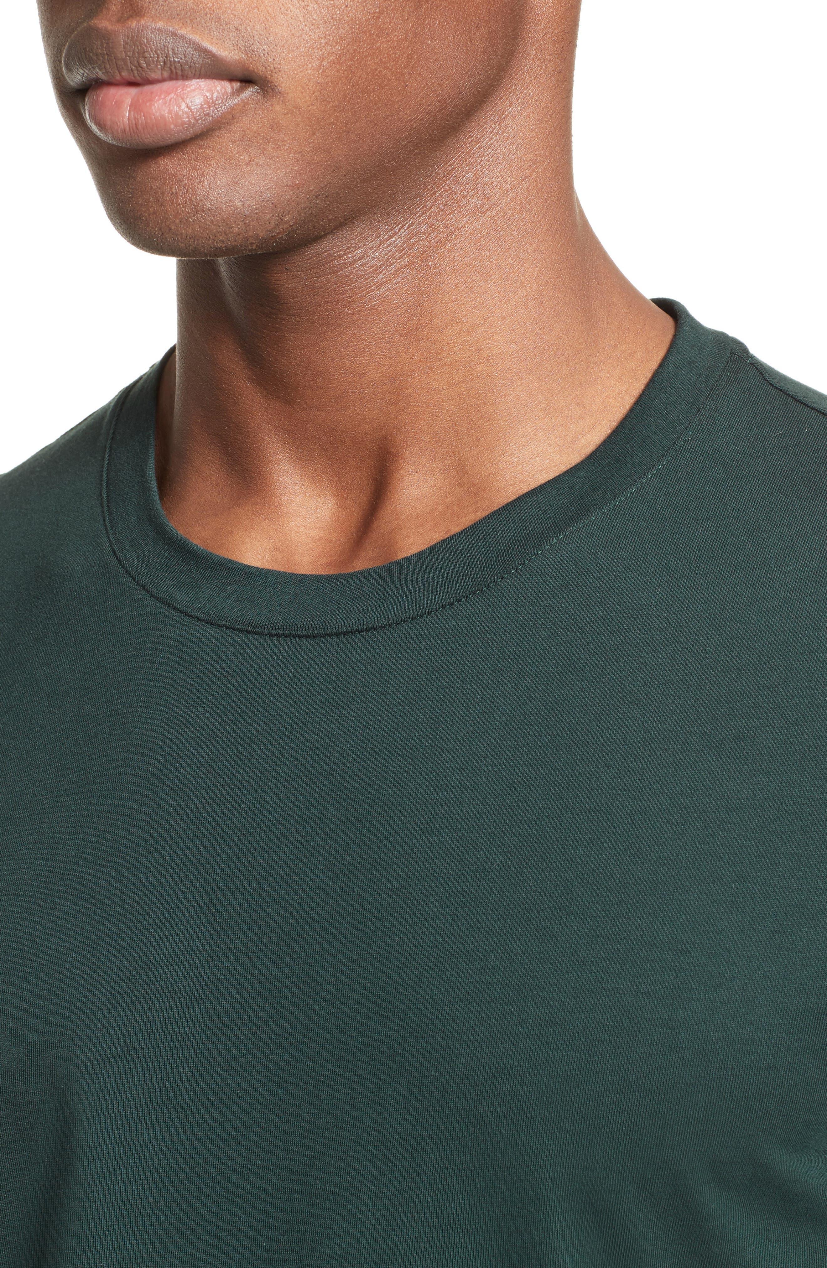 Medusa Foil Back T-Shirt,                             Alternate thumbnail 4, color,                             300