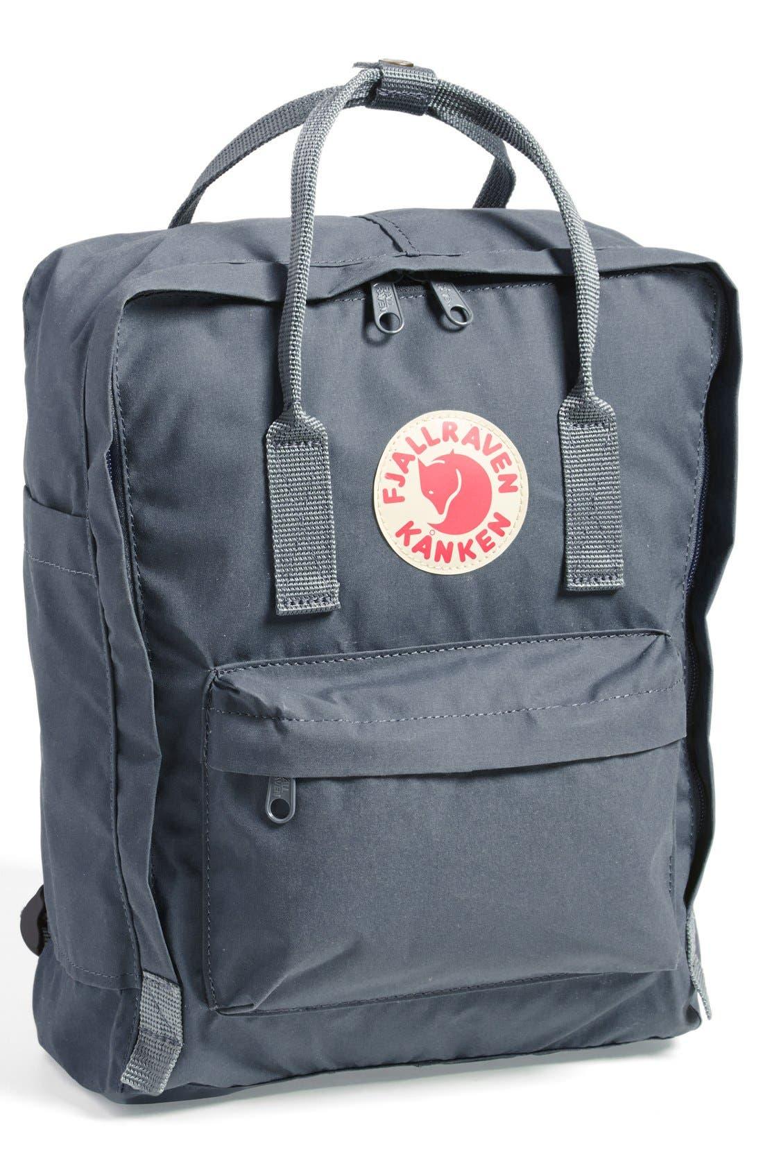'Kånken' Water Resistant Backpack,                         Main,                         color, GRAPHITE