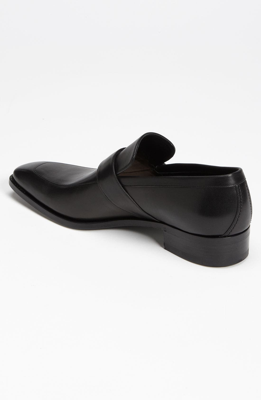 GUCCI,                             'Double G' Loafer,                             Alternate thumbnail 3, color,                             005