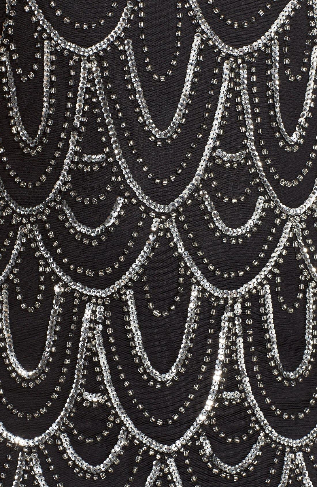 Beaded Sheath Dress,                             Alternate thumbnail 28, color,