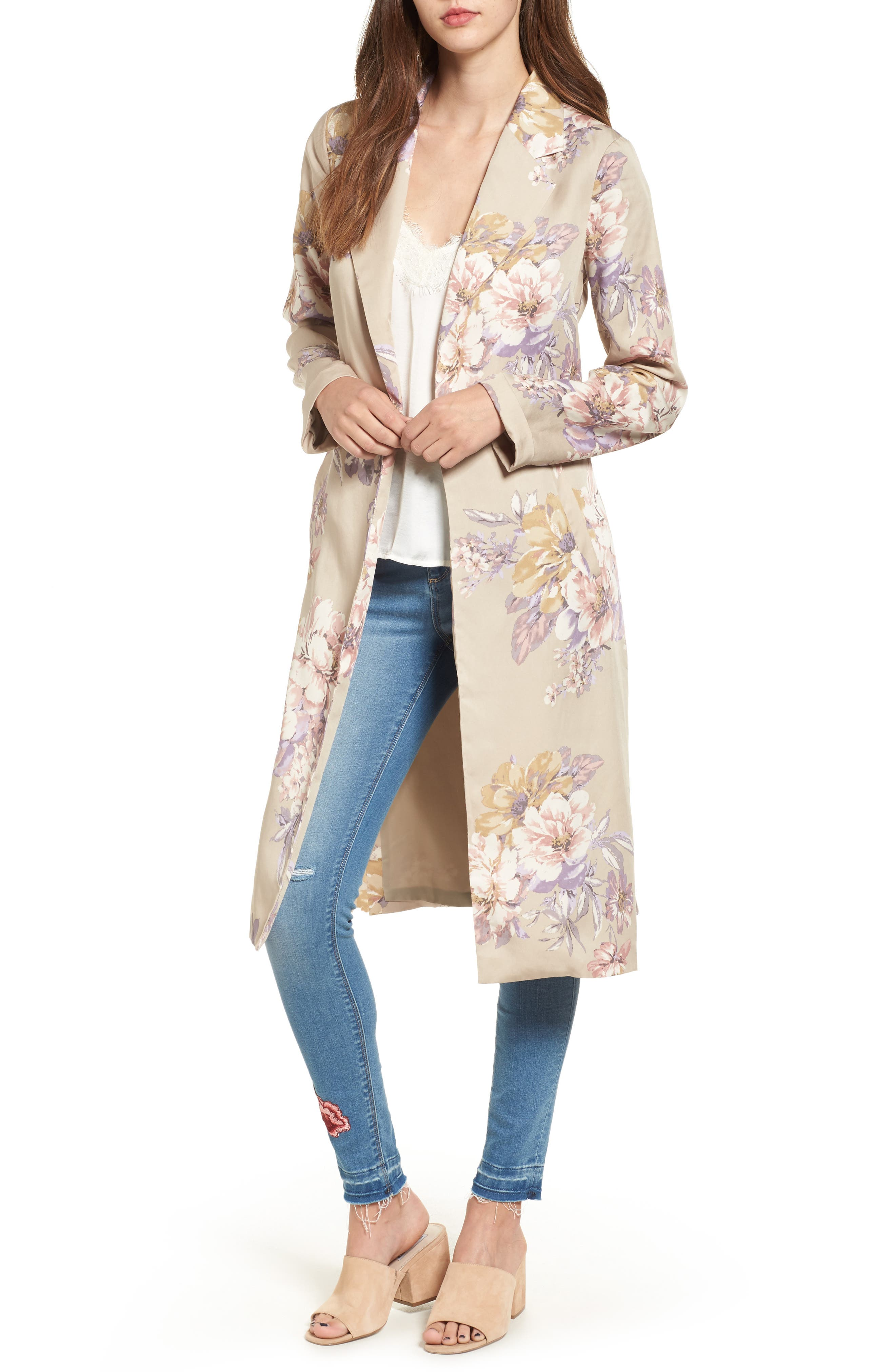 Floral Duster, Main, color, 270