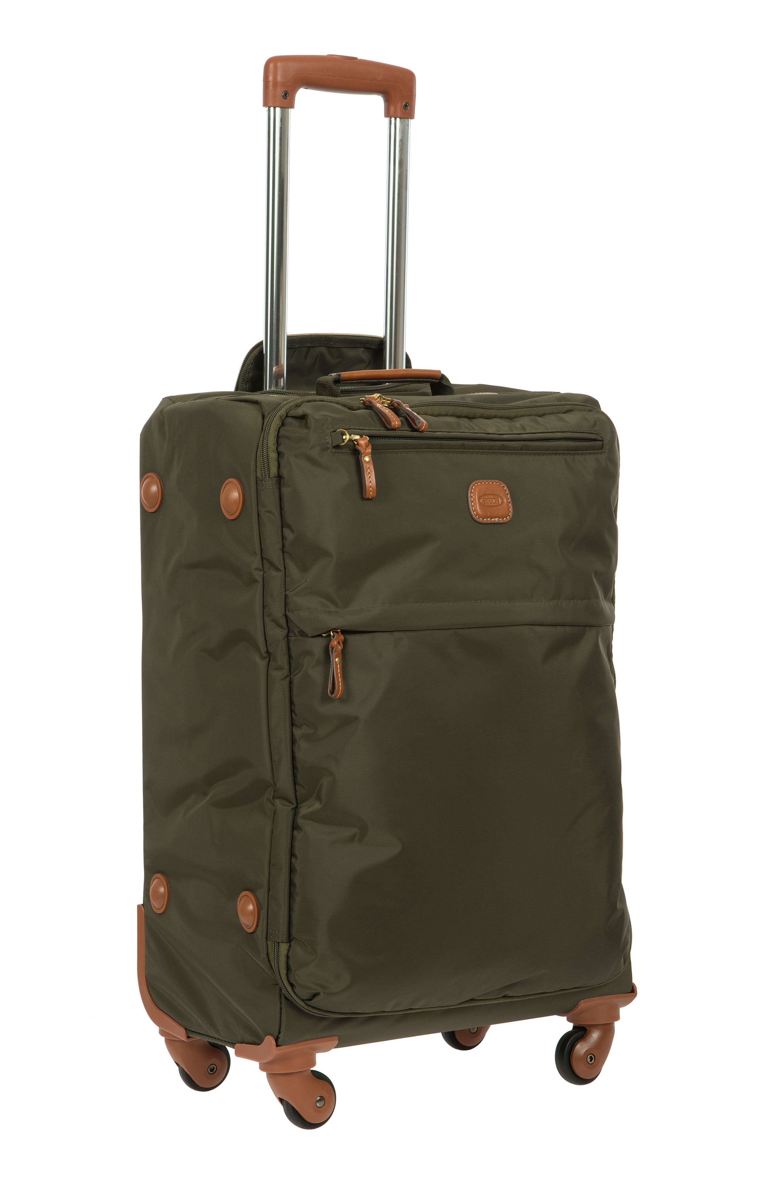 X-Bag 25-Inch Spinner Suitcase,                             Alternate thumbnail 11, color,                             OLIVE
