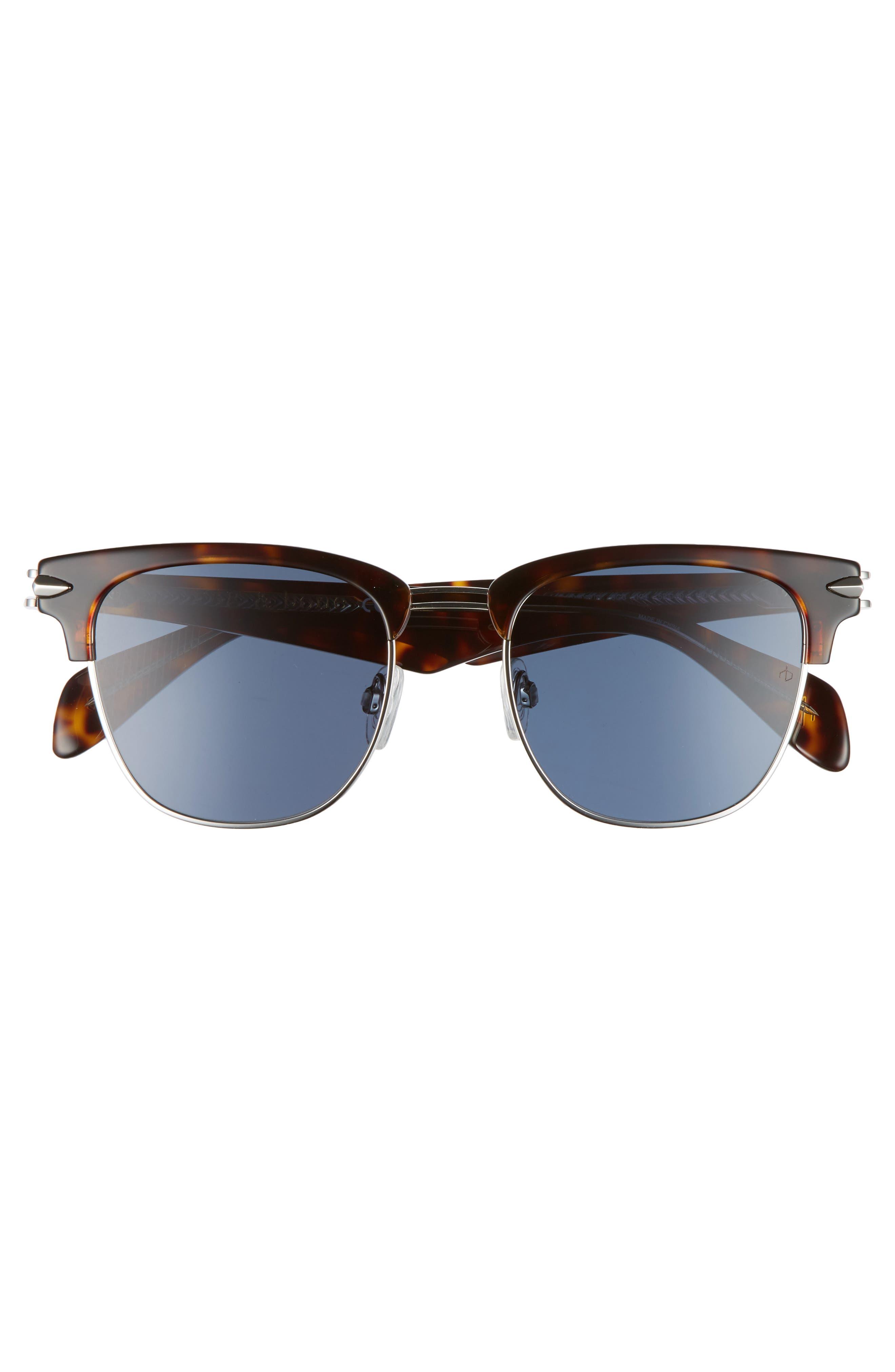 52mm Sunglasses,                             Alternate thumbnail 2, color,                             HAVANA PALLADIUM