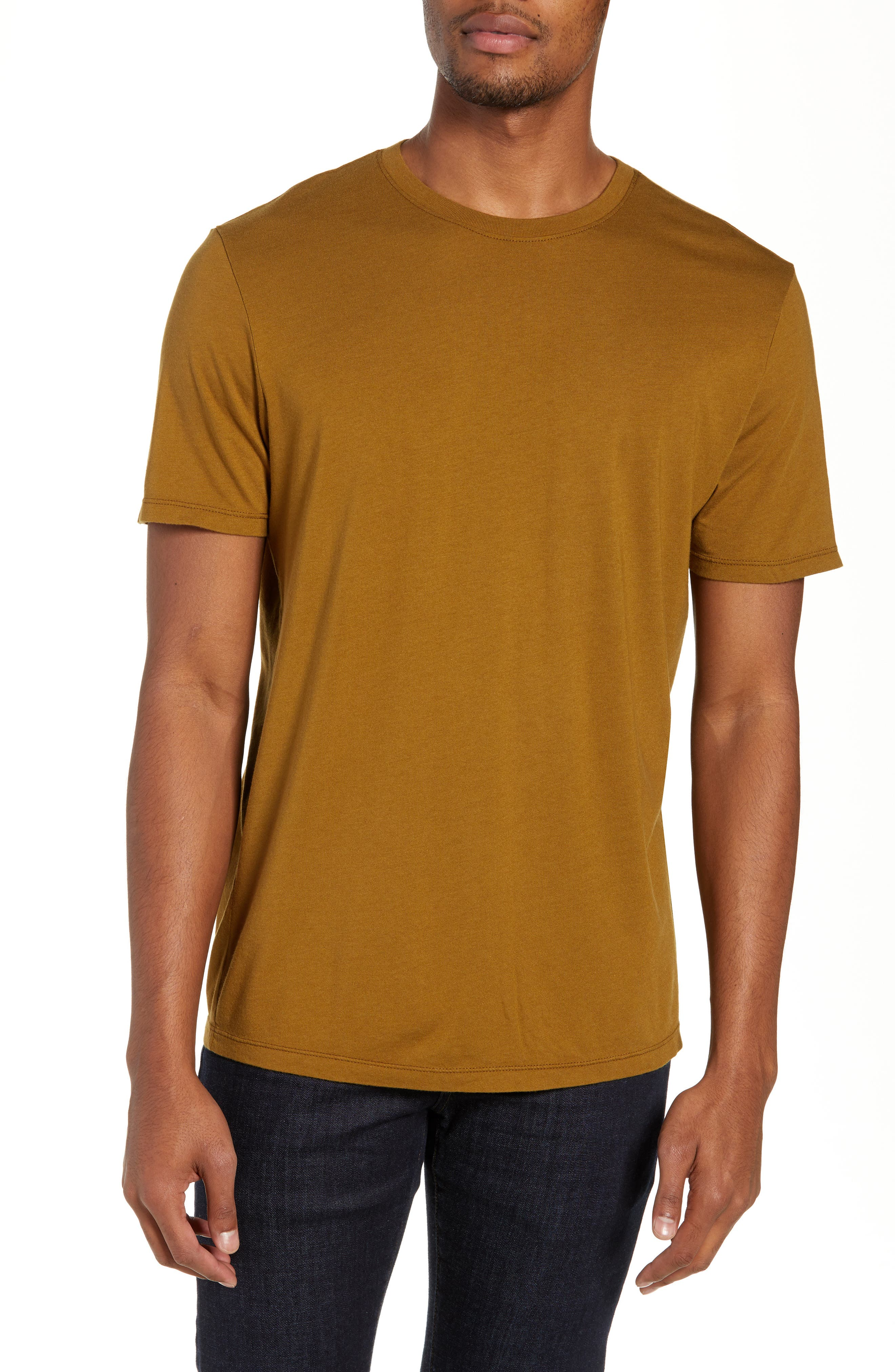 Bryce Slim Fit T-Shirt,                             Main thumbnail 1, color,                             GOLDEN OLIVE