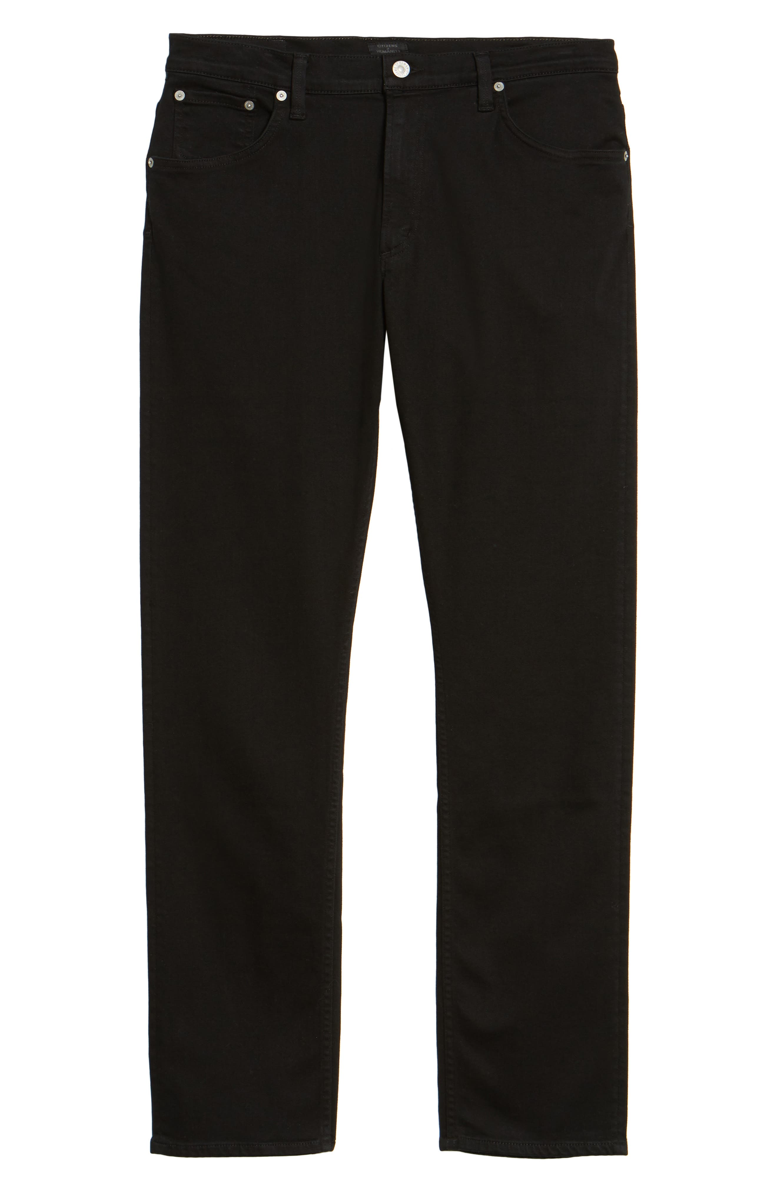 Bowery Slim Fit Jeans,                             Alternate thumbnail 6, color,                             007