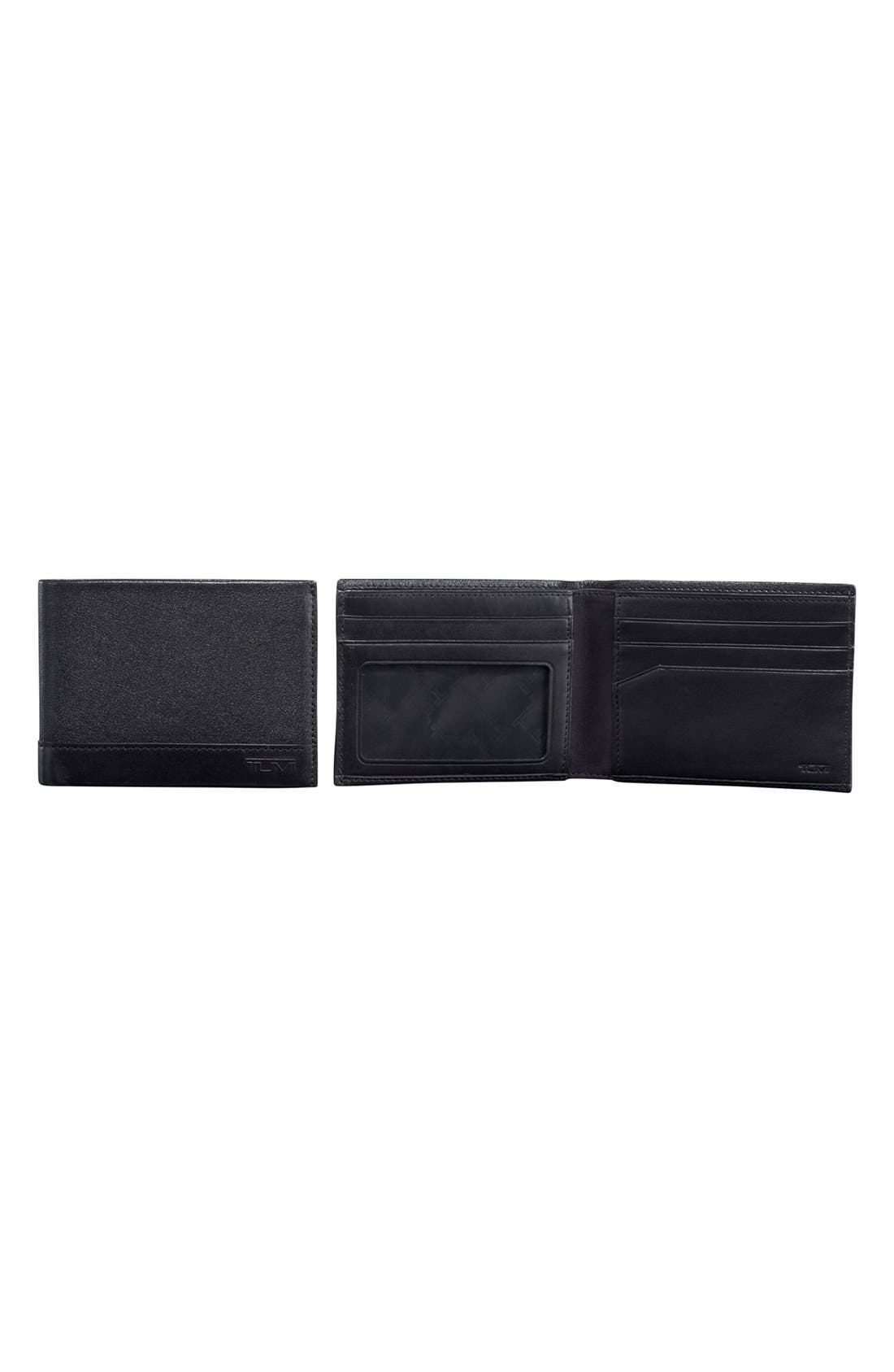 'Rivington' Leather Wallet,                             Main thumbnail 1, color,                             001