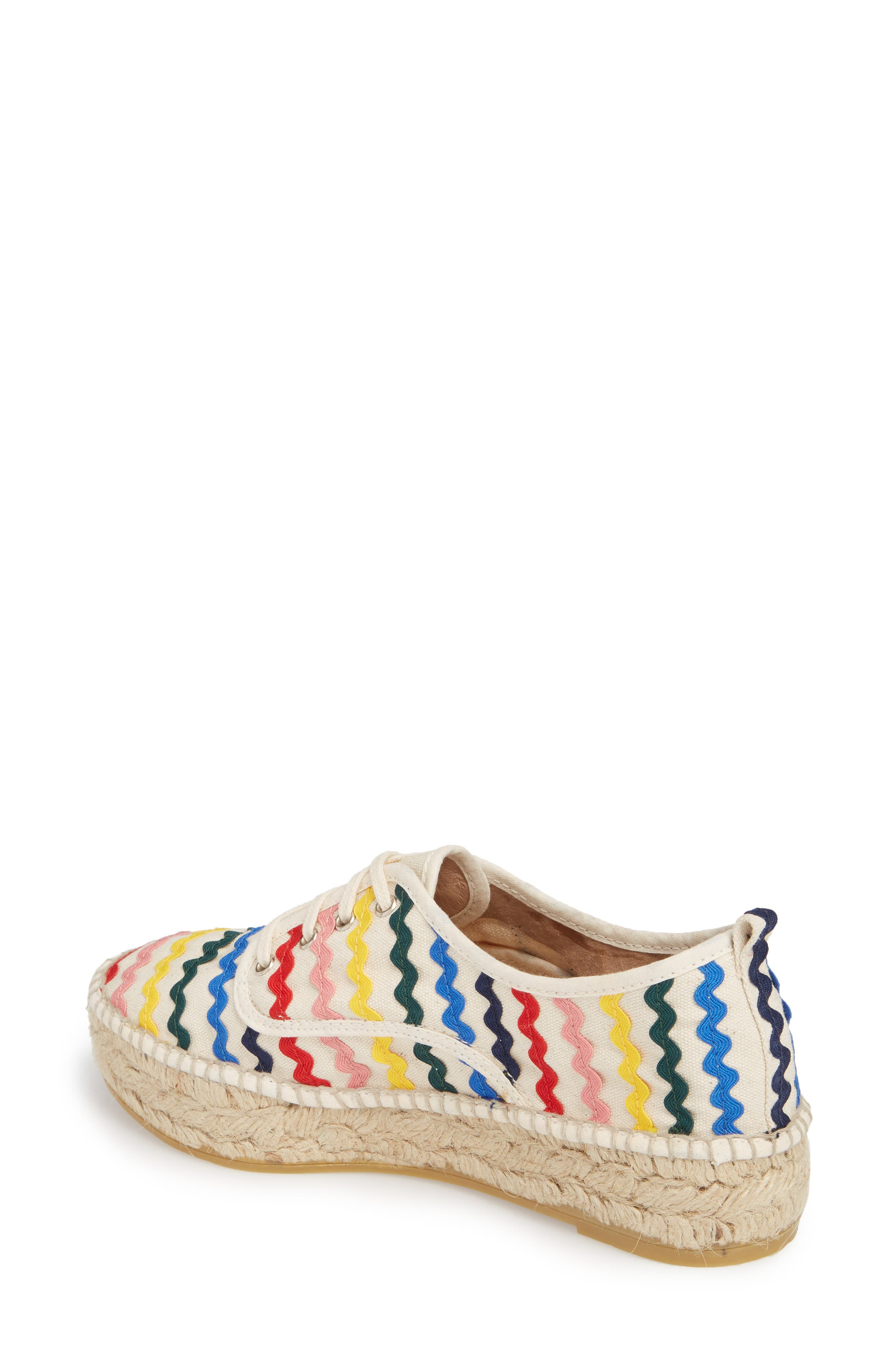 Alfie Rickrack Platform Espadrille,                             Alternate thumbnail 2, color,                             250