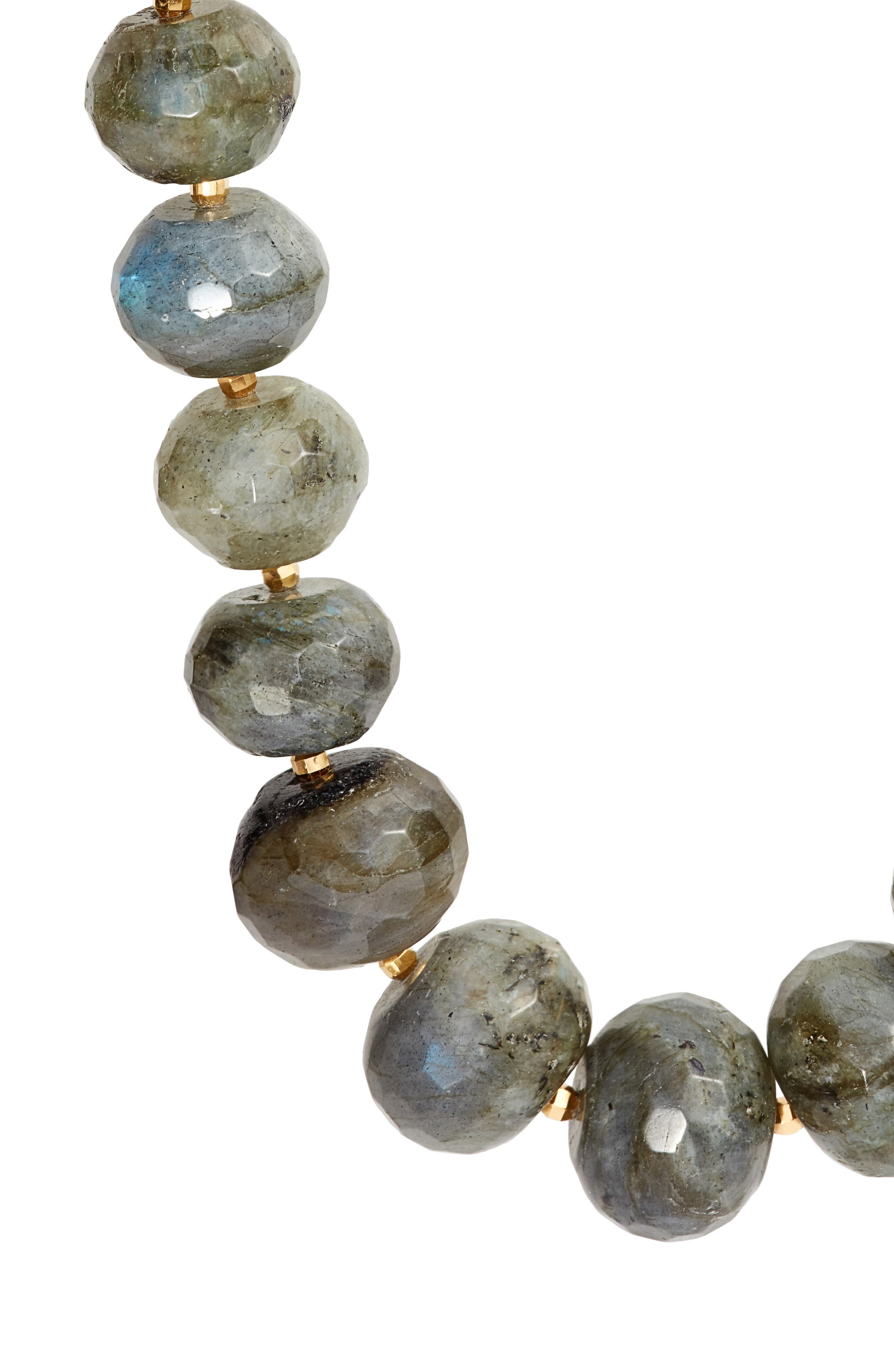 Graduated Semiprecious Stone Necklace,                             Alternate thumbnail 2, color,                             020