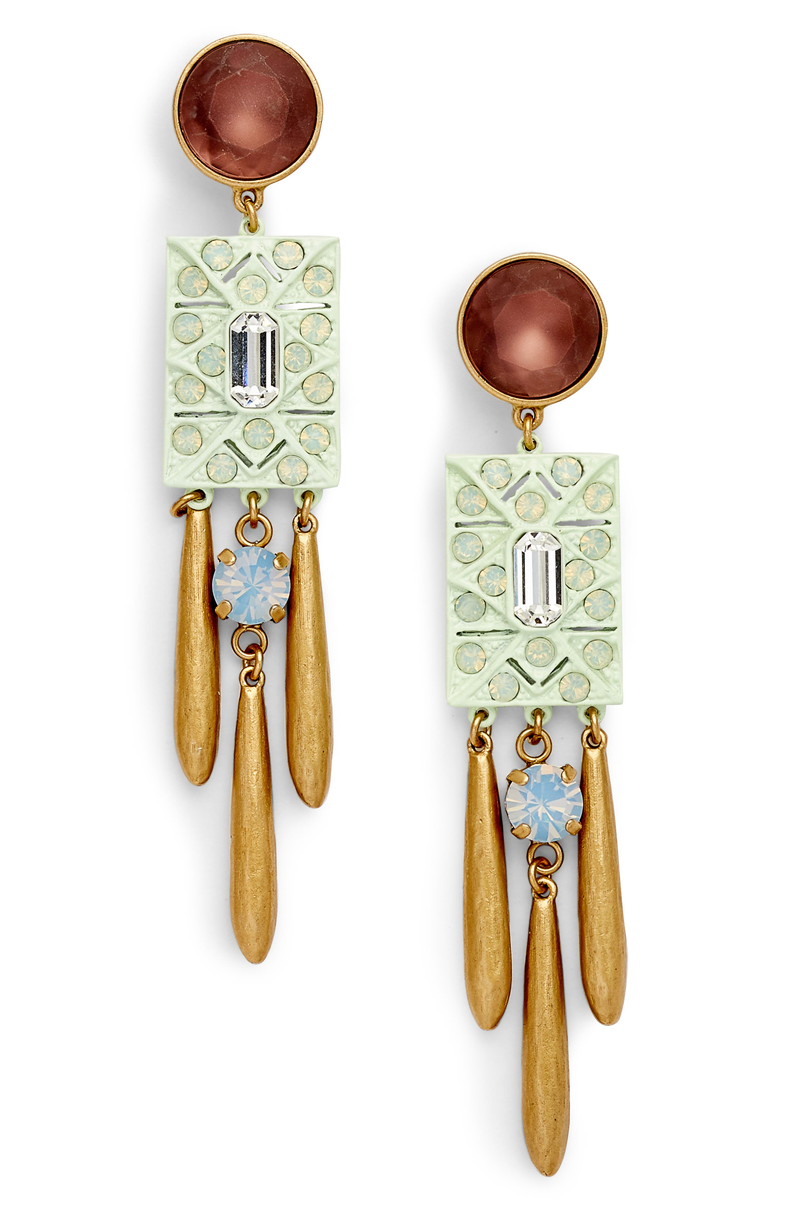 Ophelia Statement Earrings,                         Main,                         color,