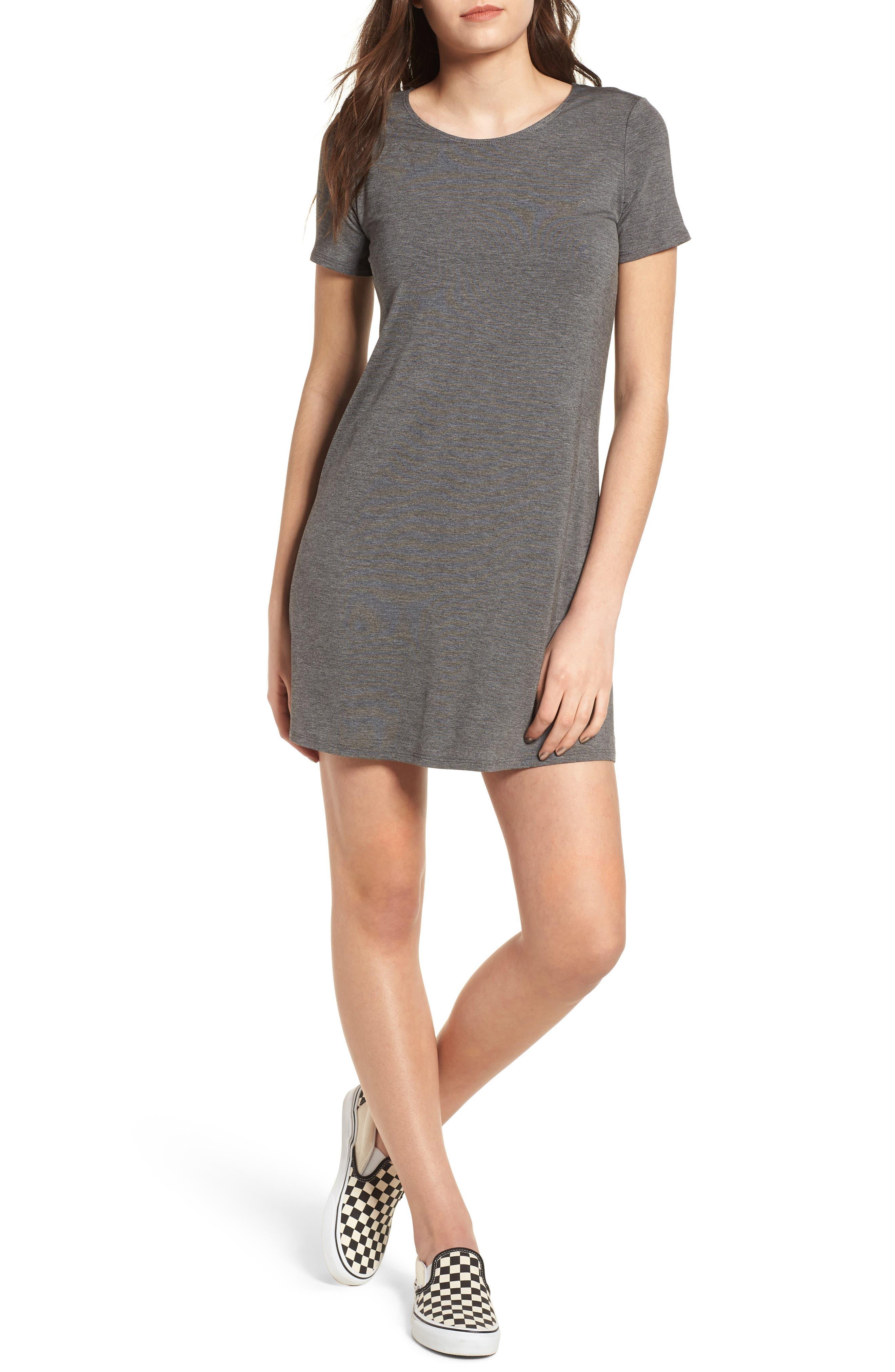 T-Shirt Dress,                             Main thumbnail 1, color,                             020